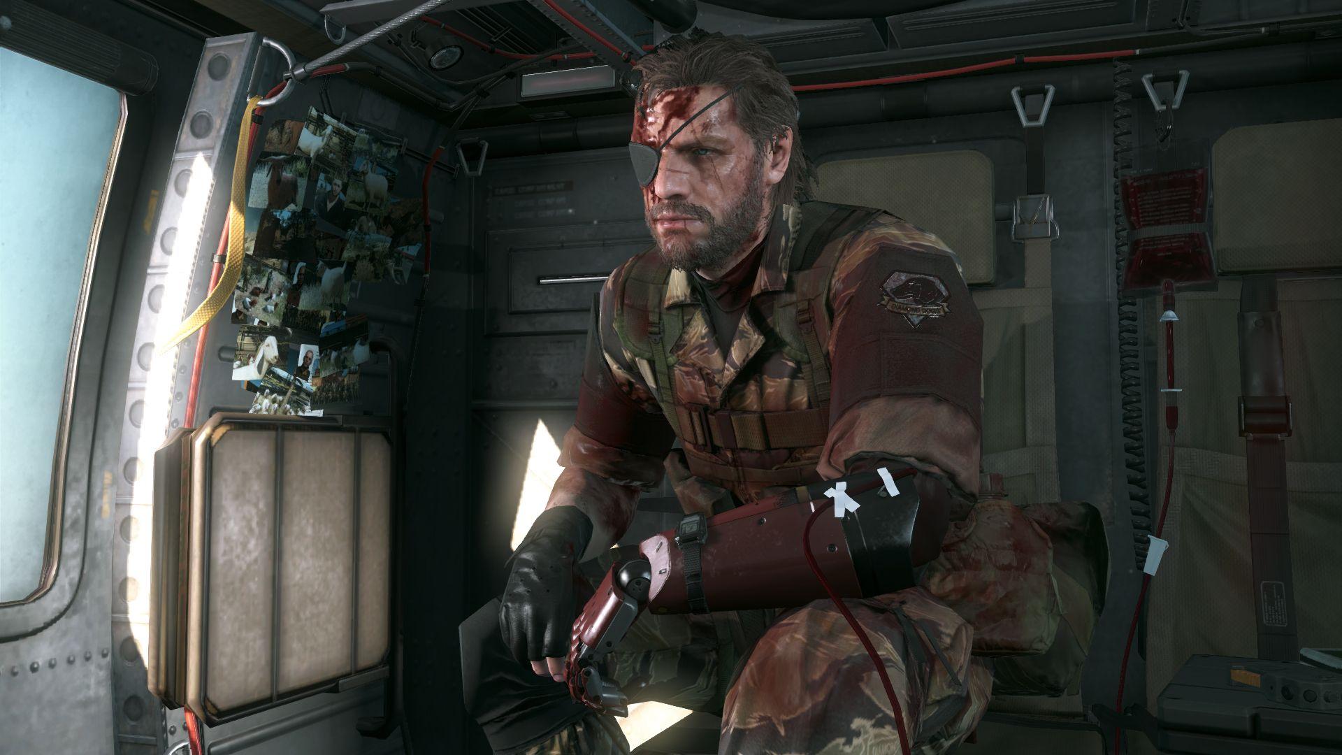 Spousta nových HD obrázků z Metal Gear Solid V: The Phantom Pain 110537