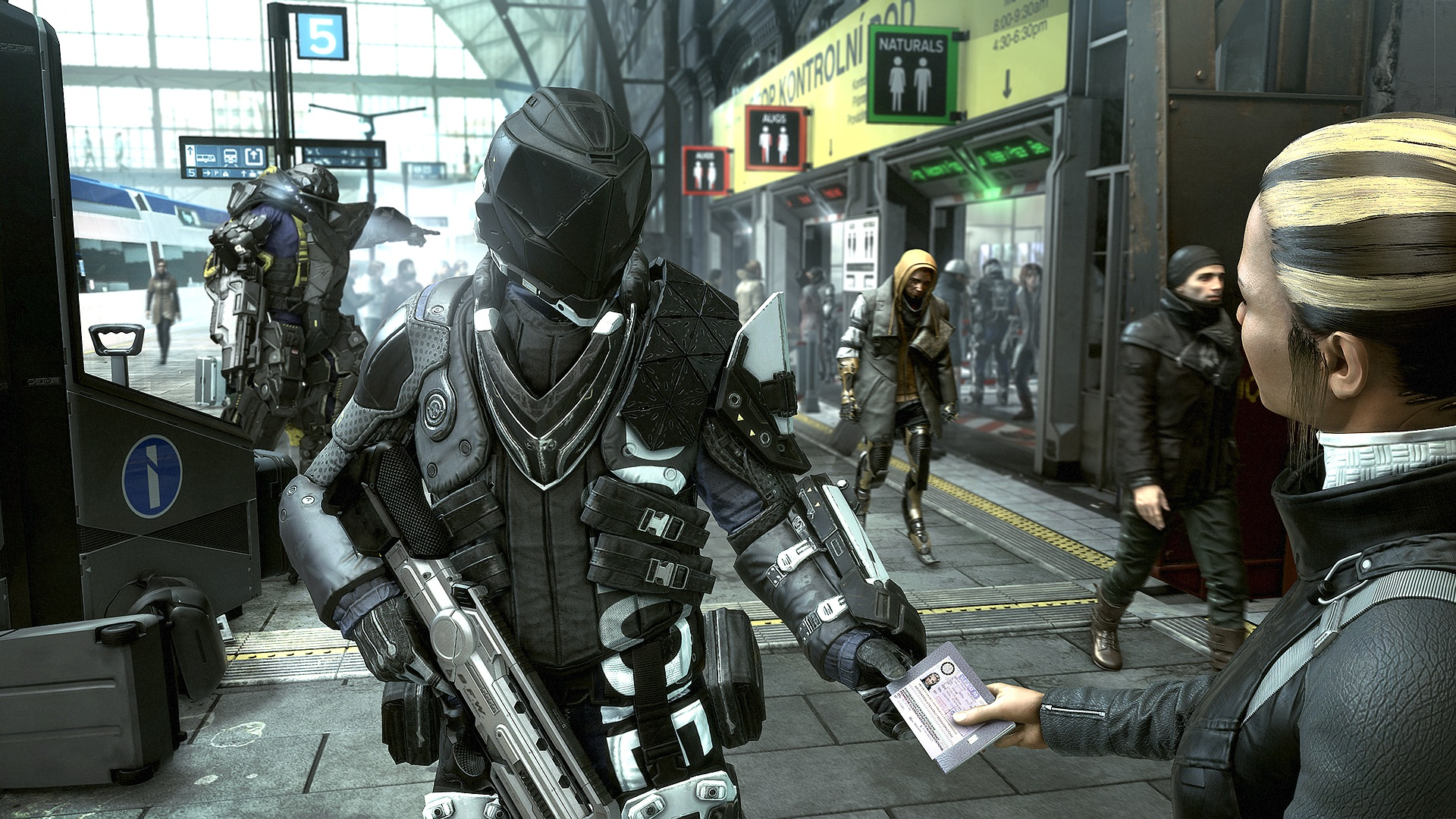 Deus Ex: Mankind Divided v prvním gameplay traileru 110539