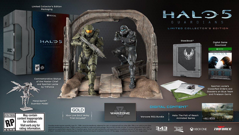 Sběratelská edice Halo 5 s oběma hrdiny 110667