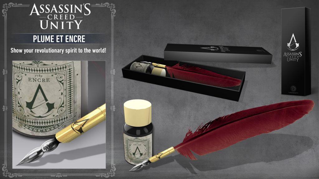 Kupte si doplňky k Assassin's Creed a získejte zdarma psací brk Unity 110675