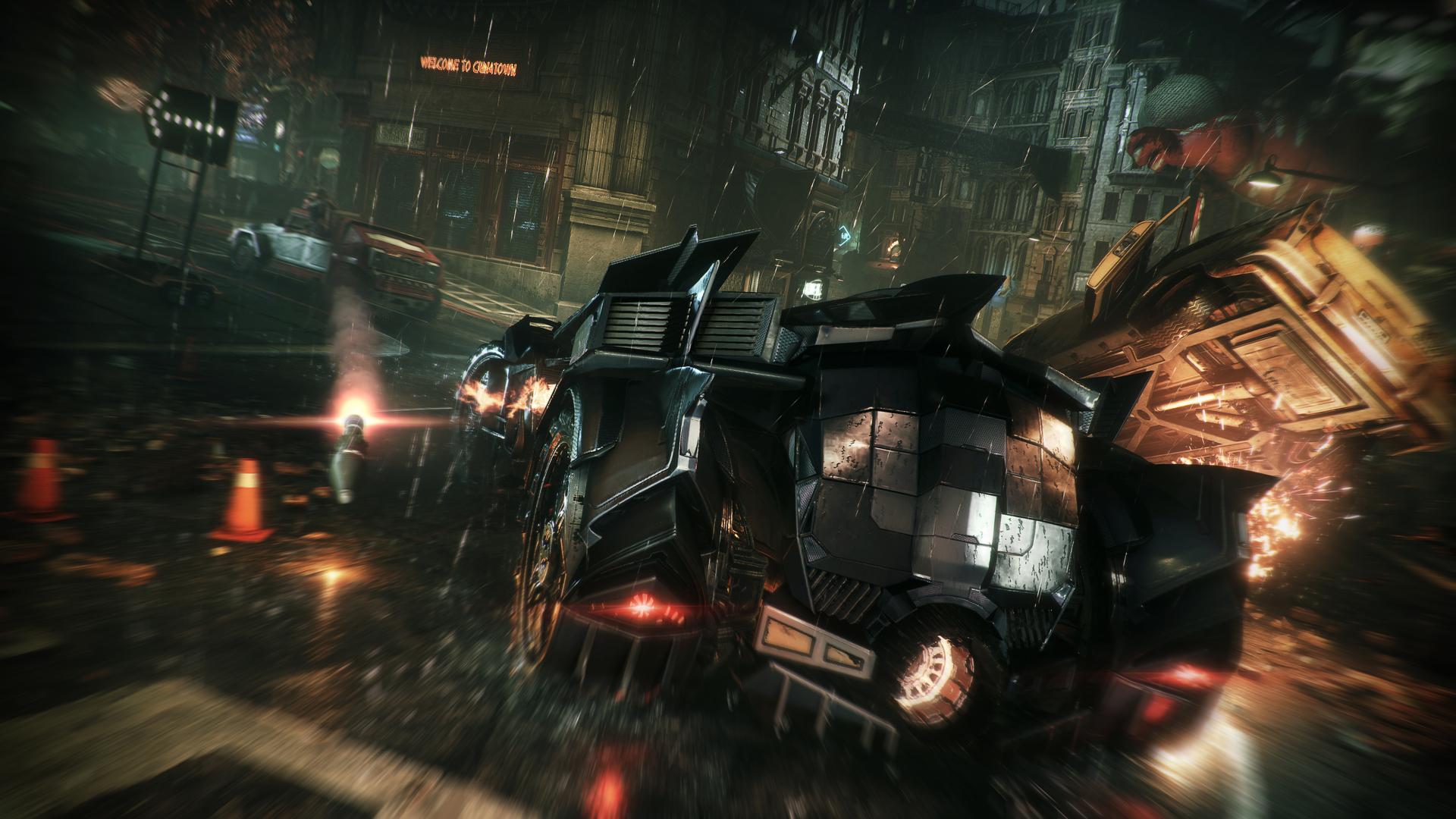 Výzvy s Batmobilem a další ukázky z nového Batmana 110679