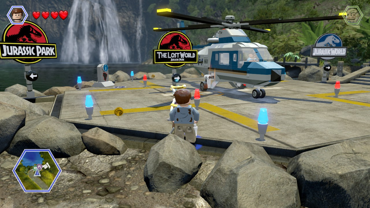 LEGO Jurassic World – svět plný dinosaurů 110697
