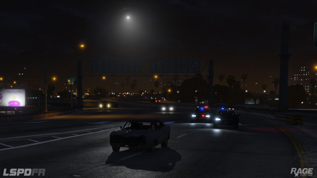 Staňte se policistou v novém modu pro GTA V 110712