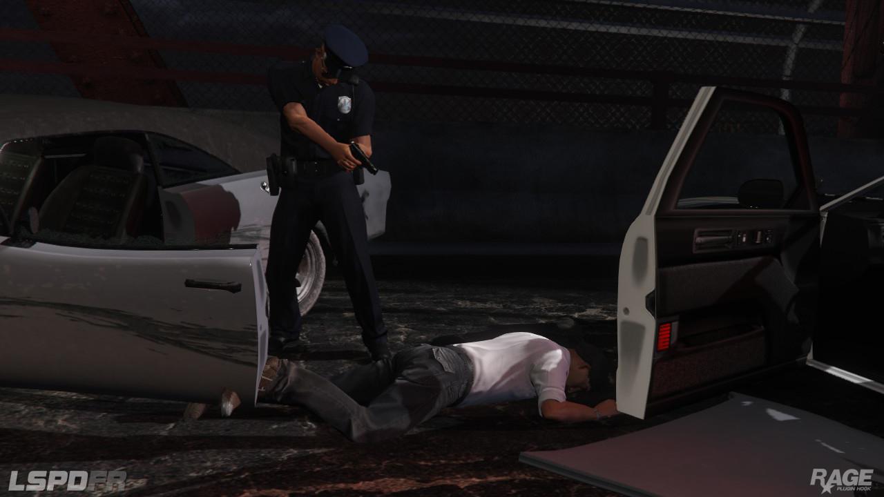 Staňte se policistou v novém modu pro GTA V 110713