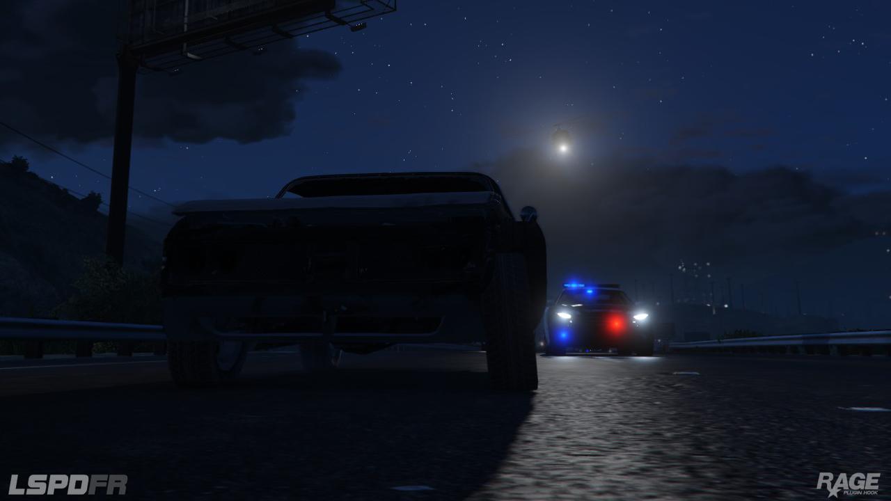 Staňte se policistou v novém modu pro GTA V 110715