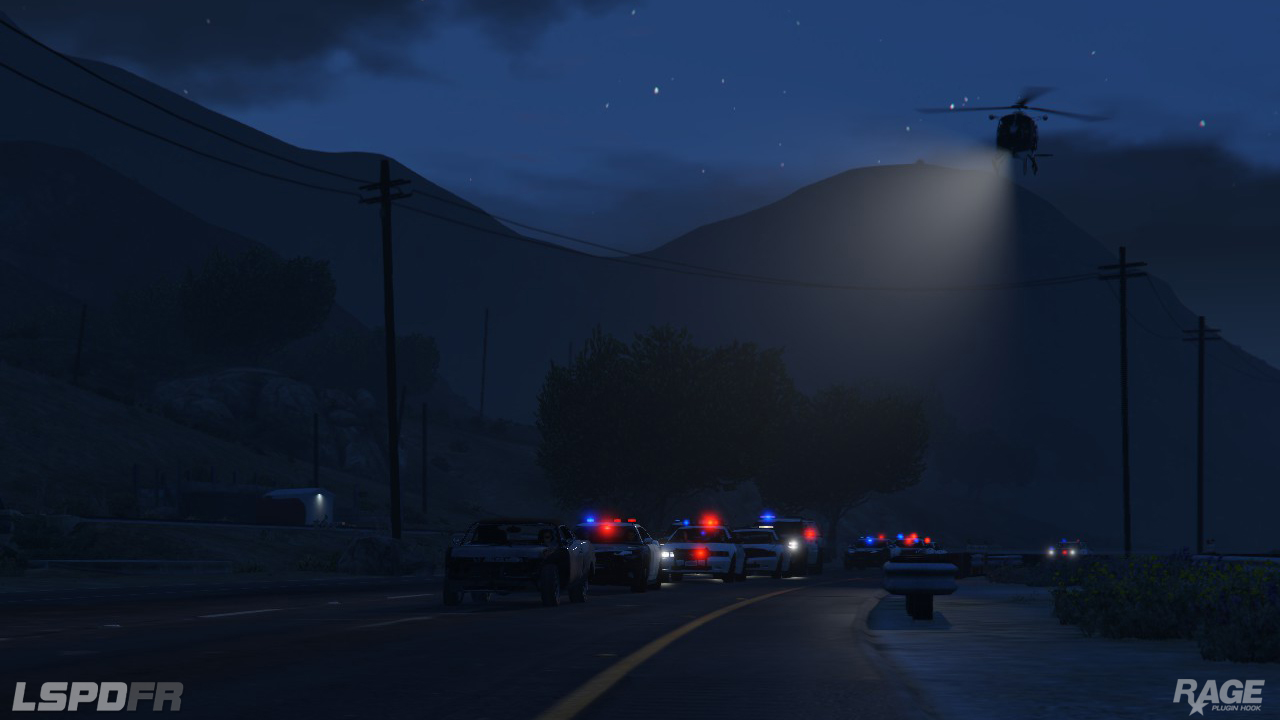Staňte se policistou v novém modu pro GTA V 110716