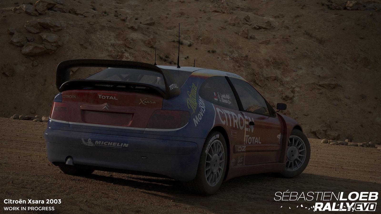 Vozy značky Citroën v závodech Sebastien Loeb Rally Evo 110722