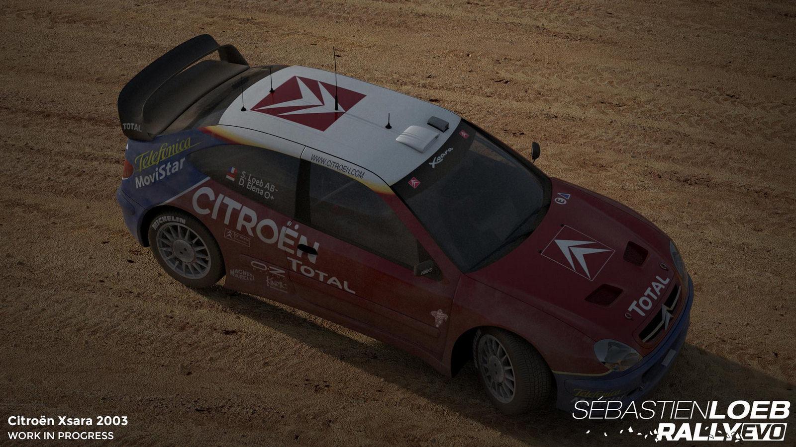 Vozy značky Citroën v závodech Sebastien Loeb Rally Evo 110723