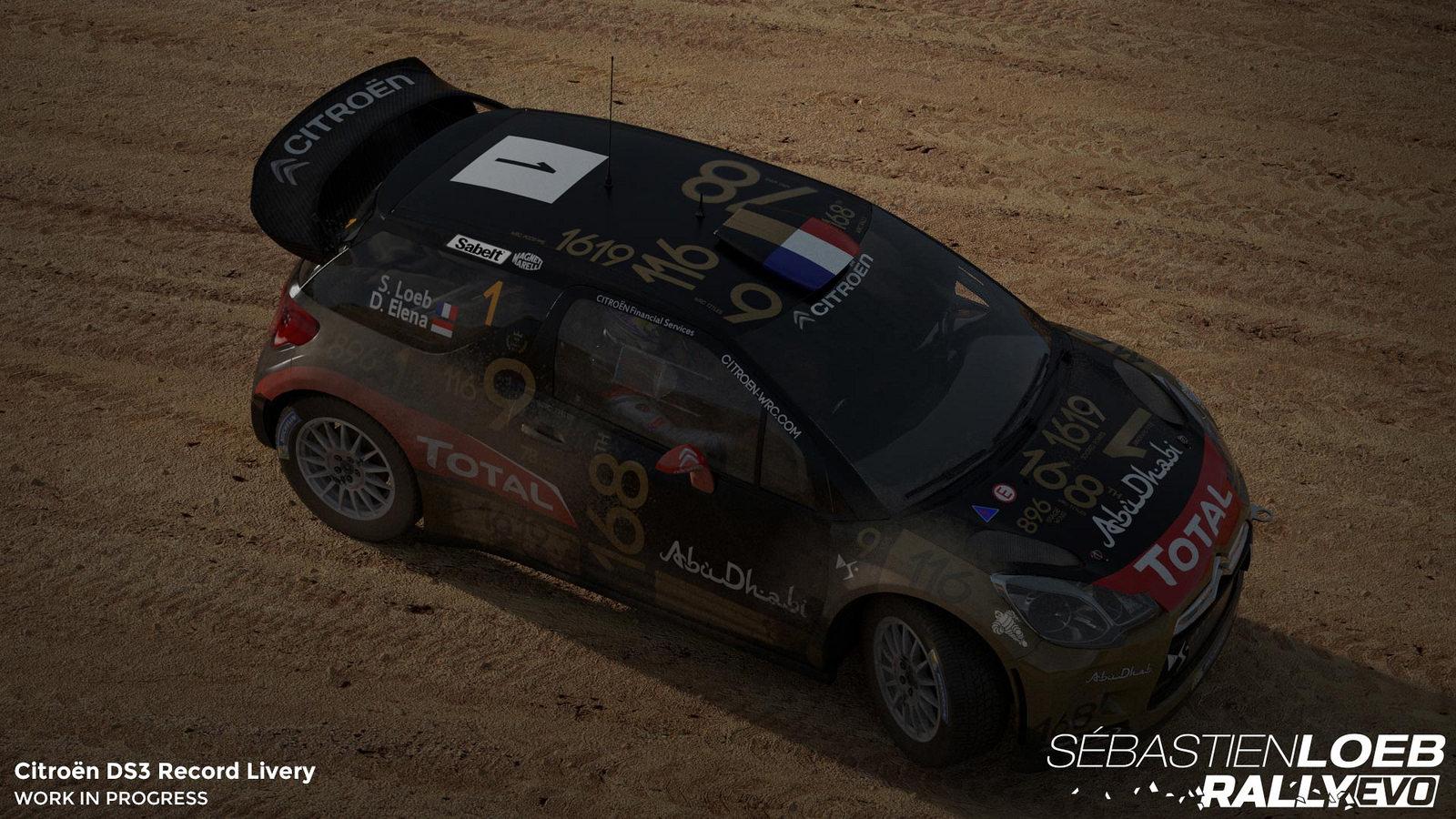 Vozy značky Citroën v závodech Sebastien Loeb Rally Evo 110724