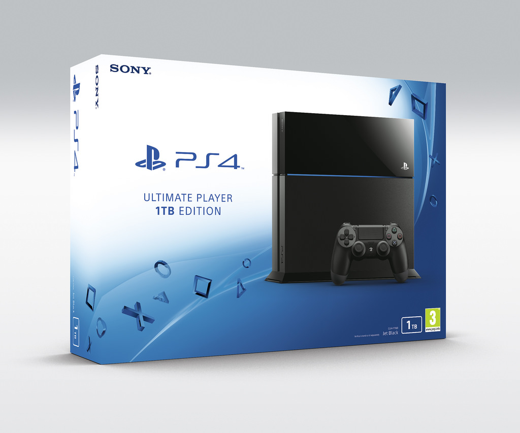 1TB model PS4 bude v Evropě od července 110727