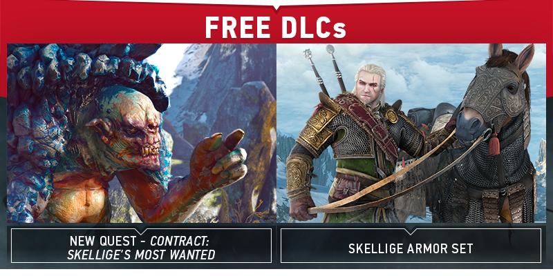 Další bezplatná DLC pro Zaklínače 3 přidají novou zbroj a zakázku 110796