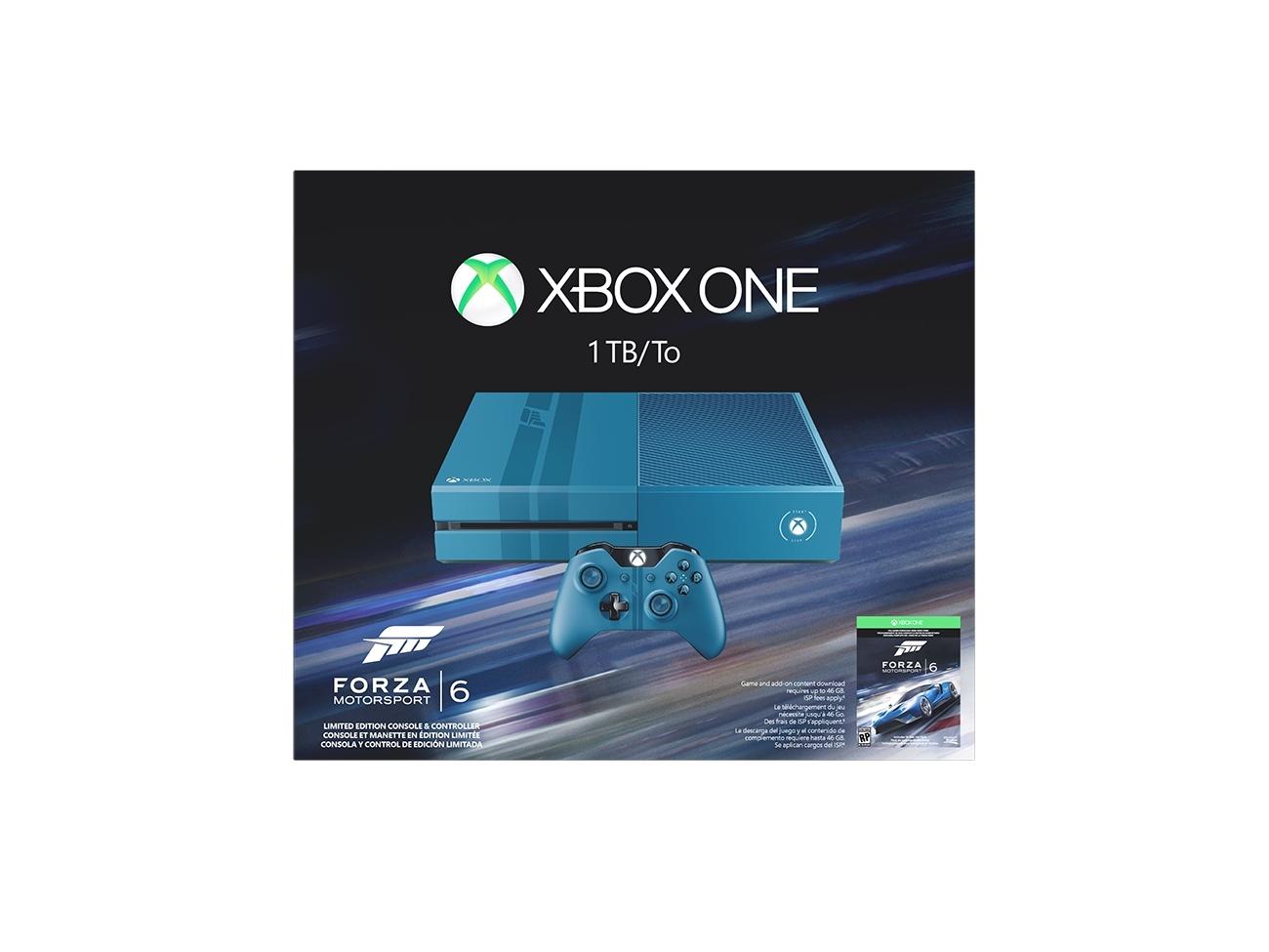 Limitovaná Xbox One edice s hrou Forza 6 110812