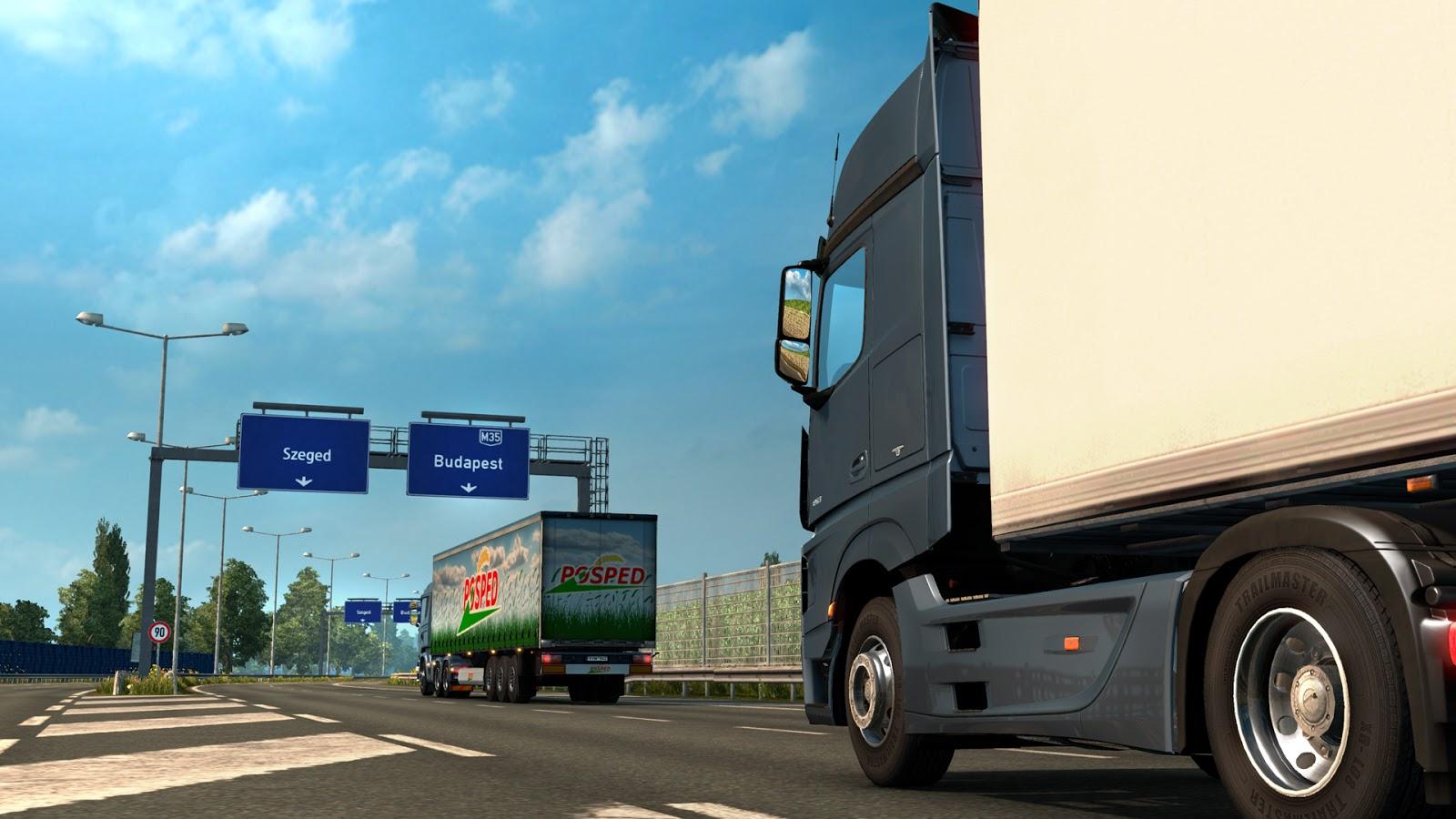 Dvě maďarská města rozšíří Euro Truck Simulator 2 111101