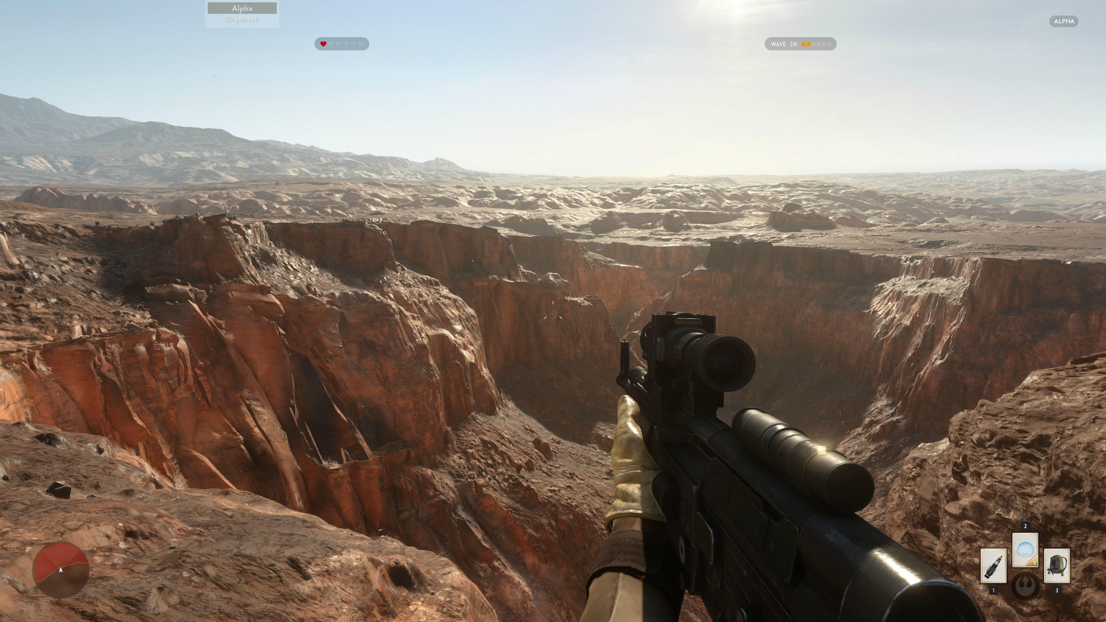 4K obrázky z alfy Star Wars: Battlefront 111122