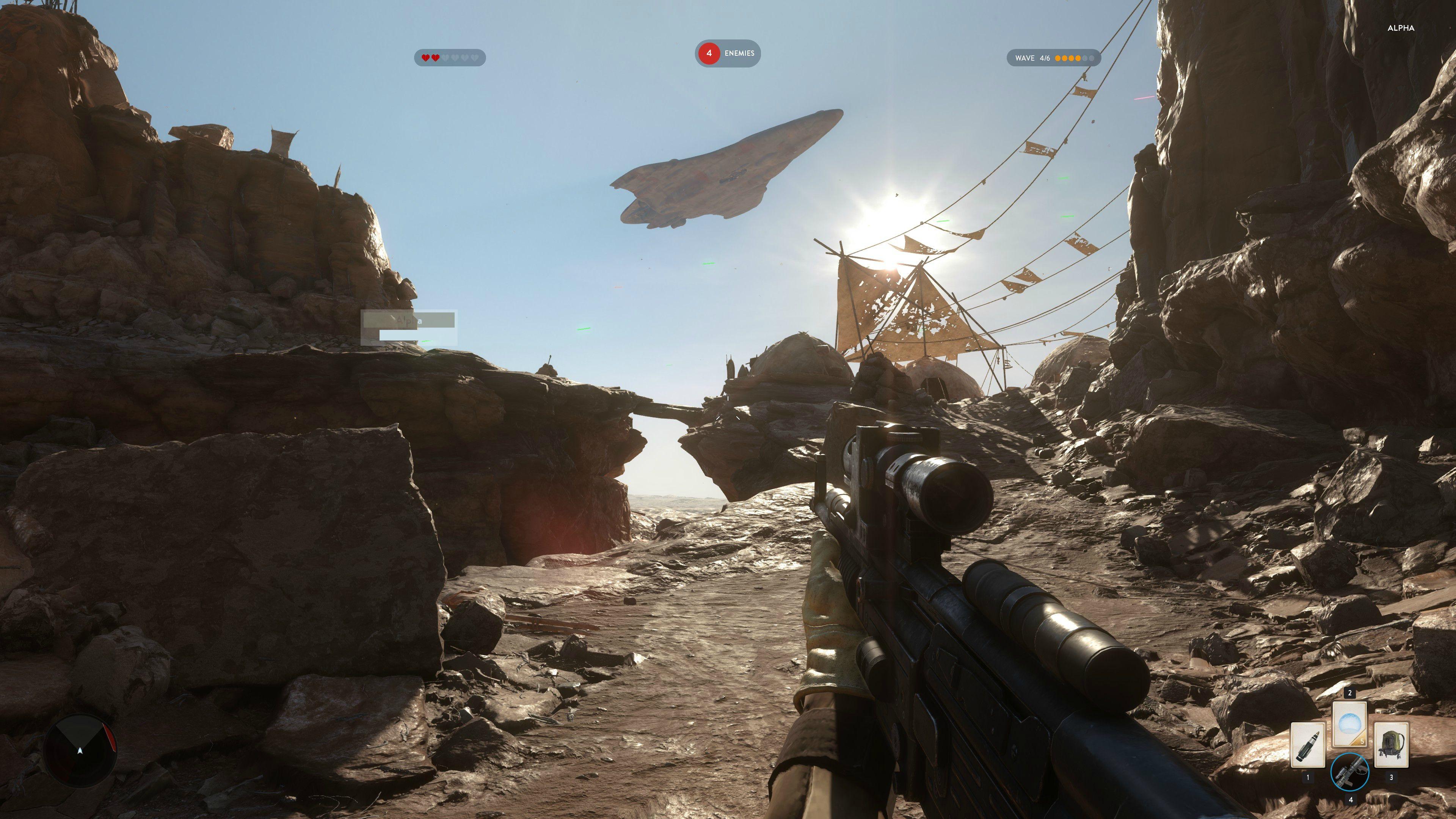 4K obrázky z alfy Star Wars: Battlefront 111124