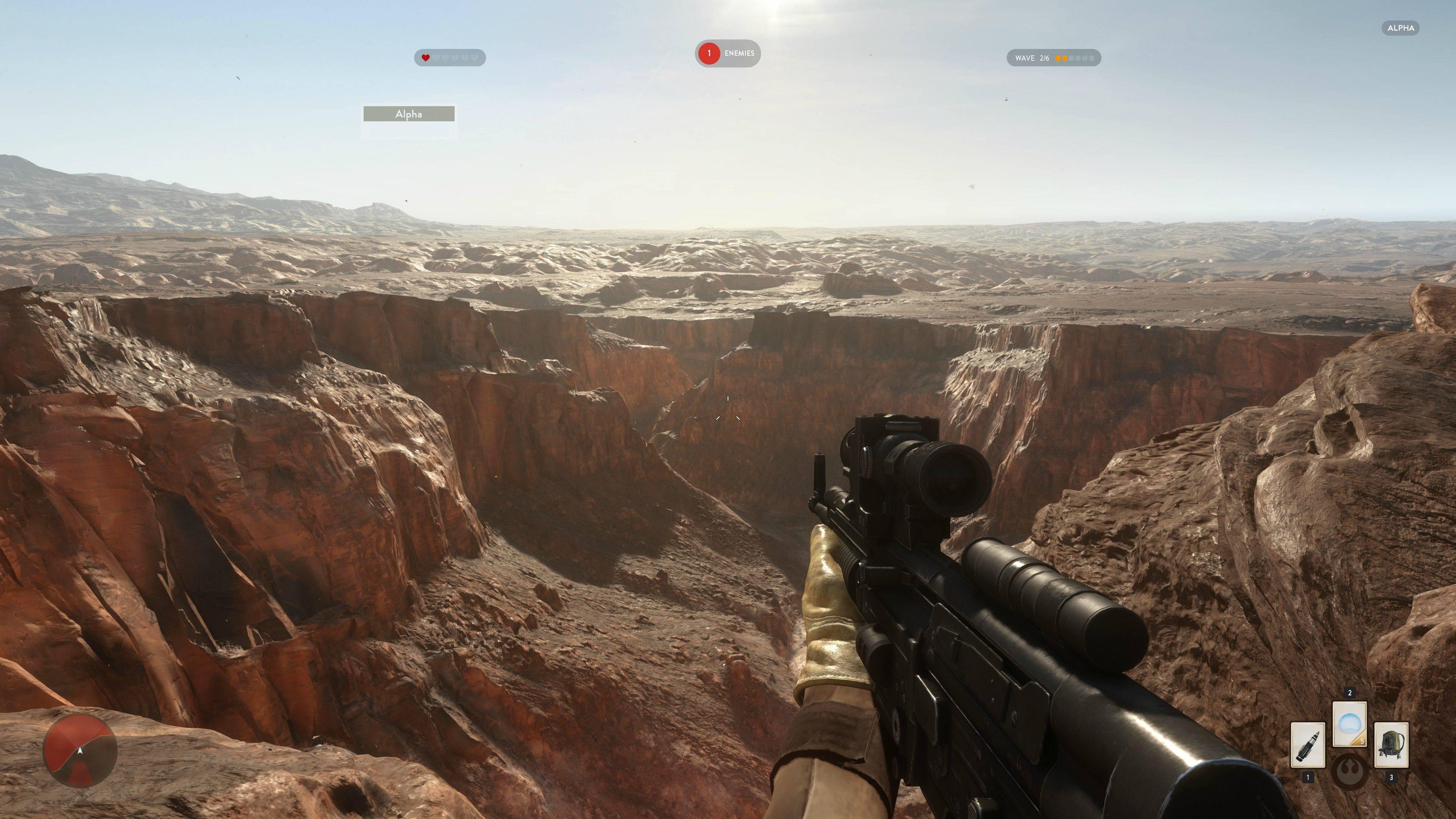 4K obrázky z alfy Star Wars: Battlefront 111129