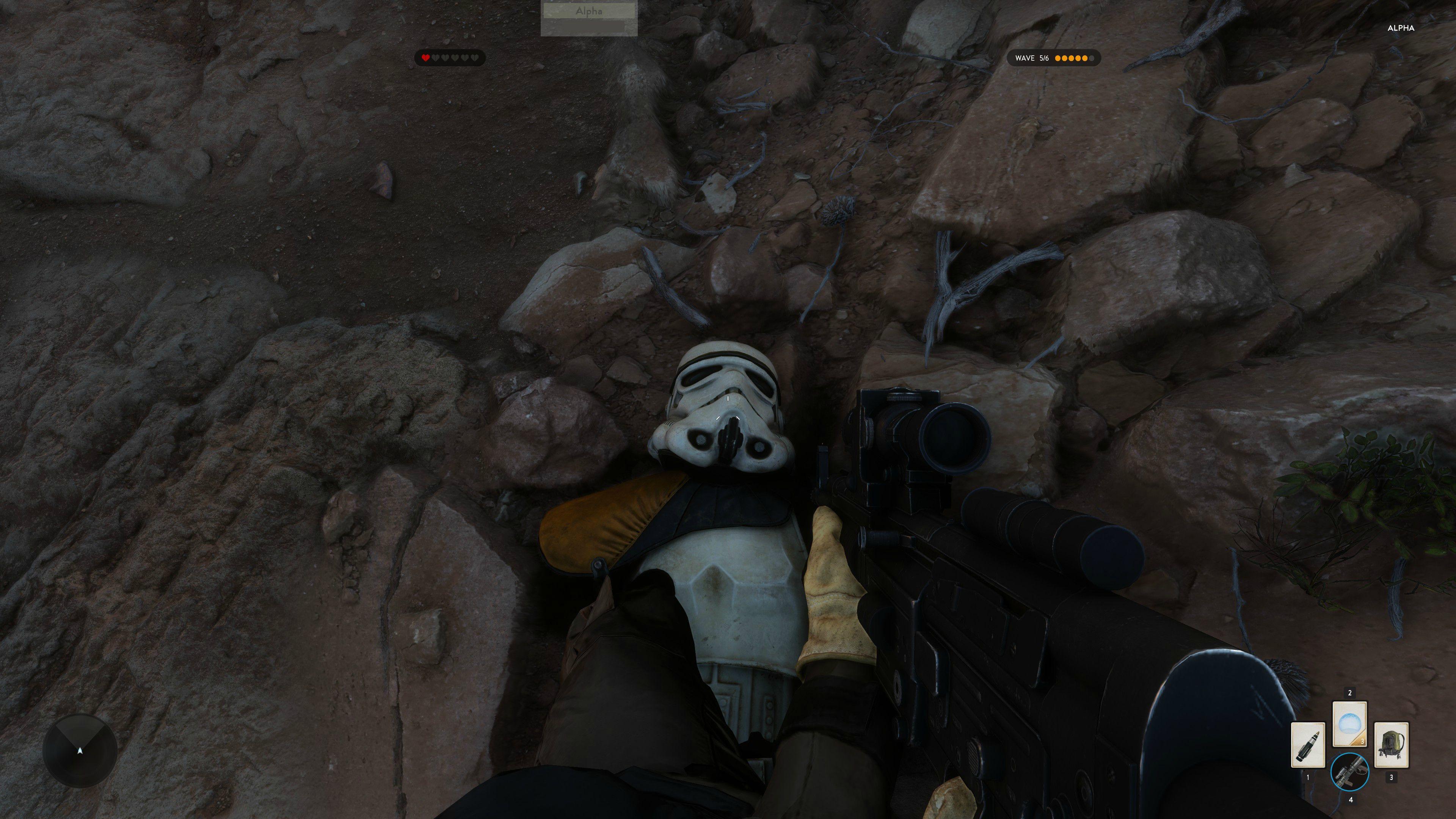 4K obrázky z alfy Star Wars: Battlefront 111133