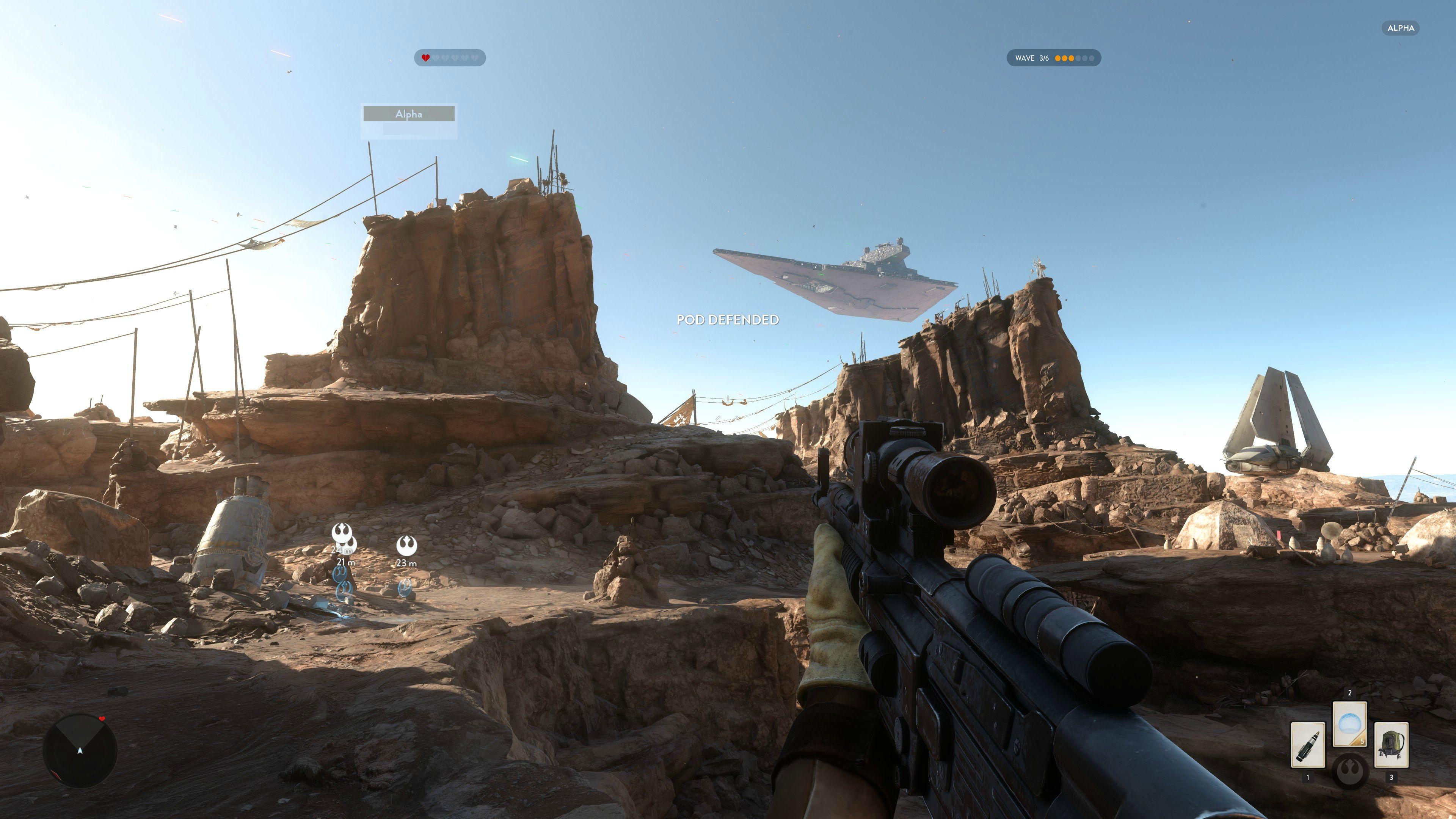 4K obrázky z alfy Star Wars: Battlefront 111143