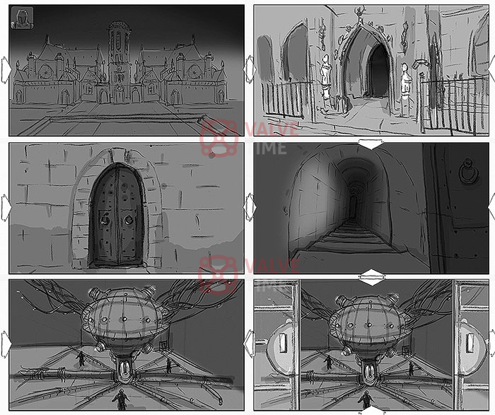 Materiály ze zrušené akce The Crossing od Valve a tvůrců Dishonored 111176