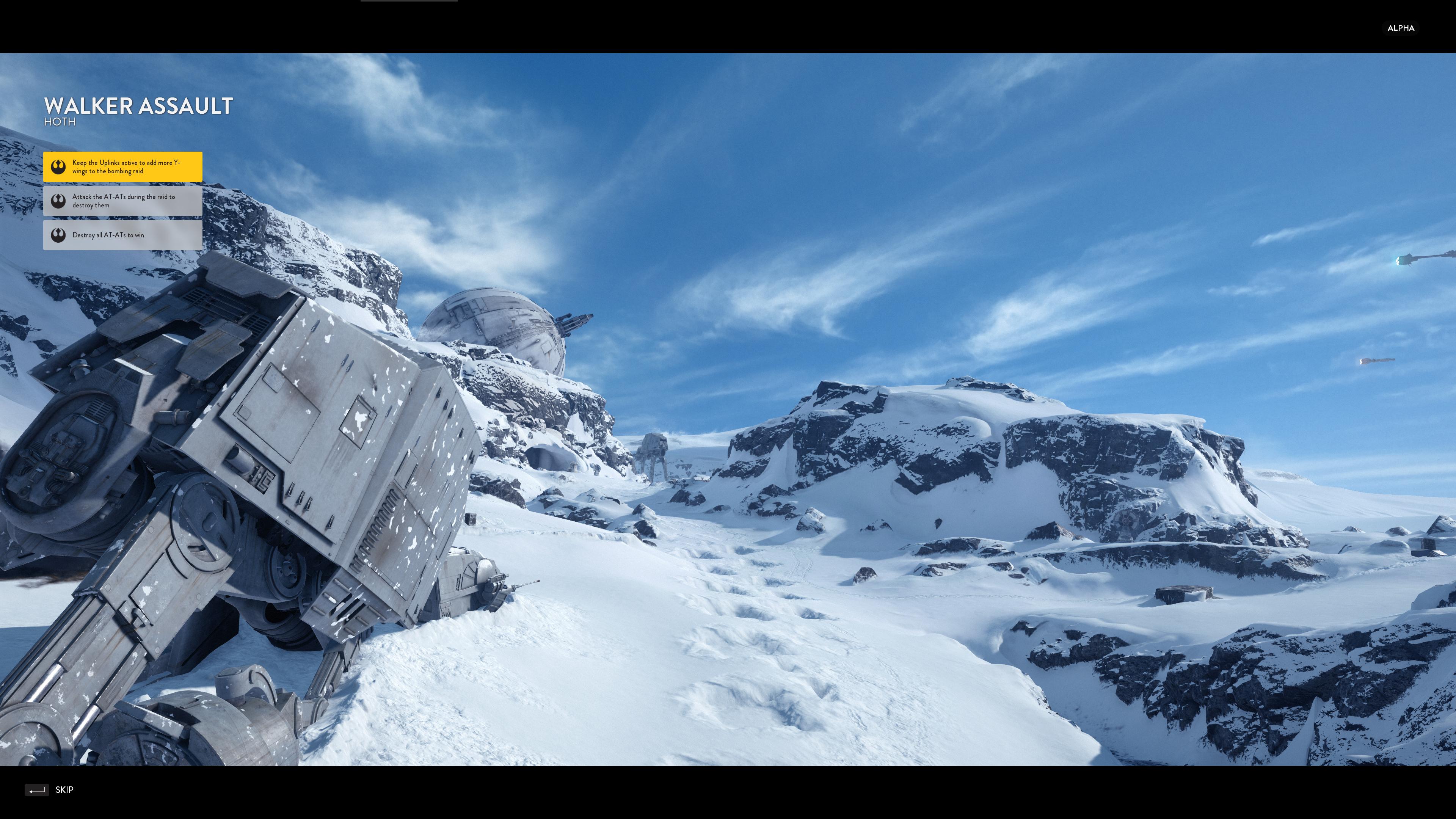 Obrazem: Boj na planetě Hoth ze Star Wars: Battlefront 111199