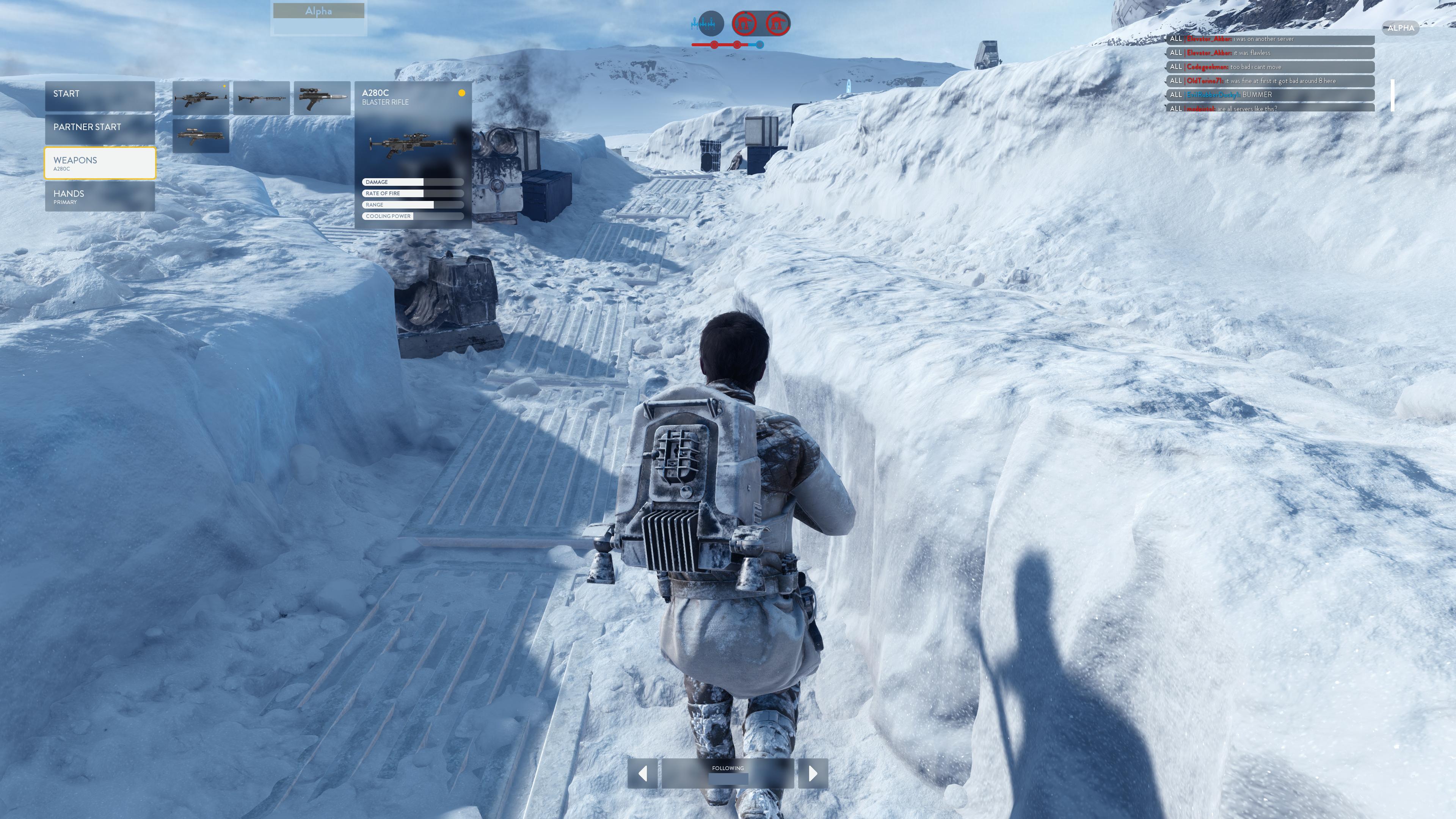 Obrazem: Boj na planetě Hoth ze Star Wars: Battlefront 111200