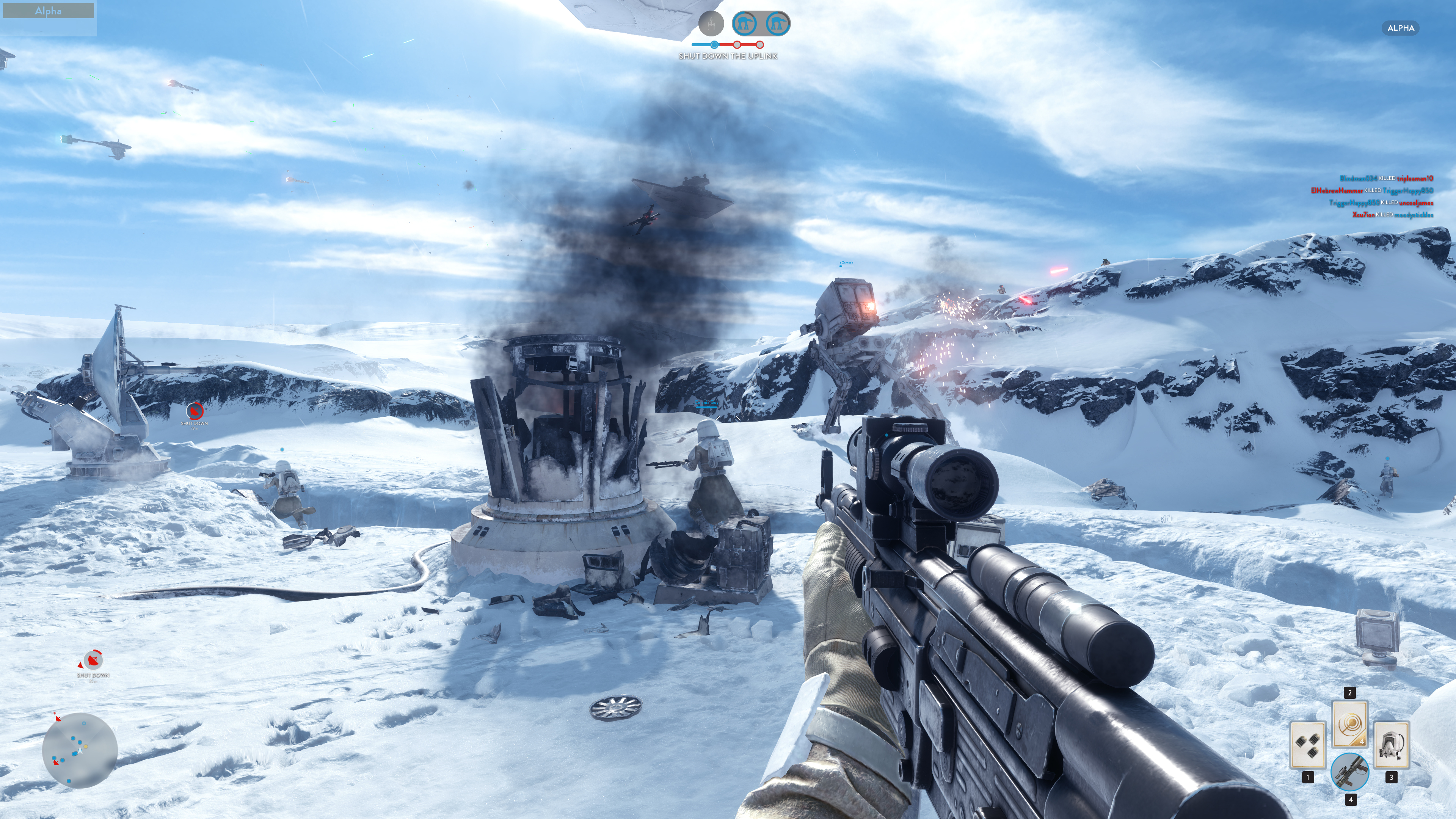 Obrazem: Boj na planetě Hoth ze Star Wars: Battlefront 111202