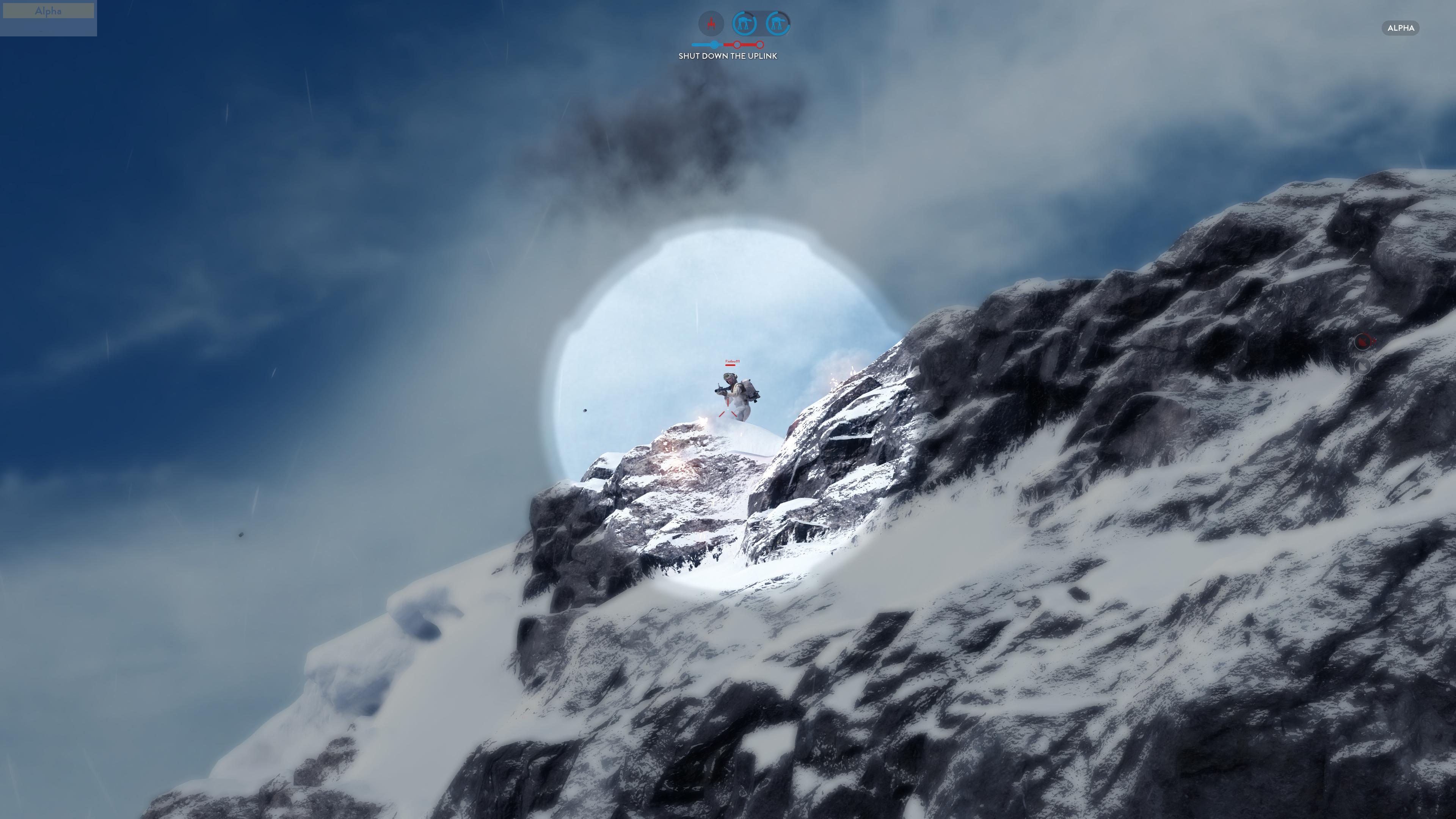 Obrazem: Boj na planetě Hoth ze Star Wars: Battlefront 111203