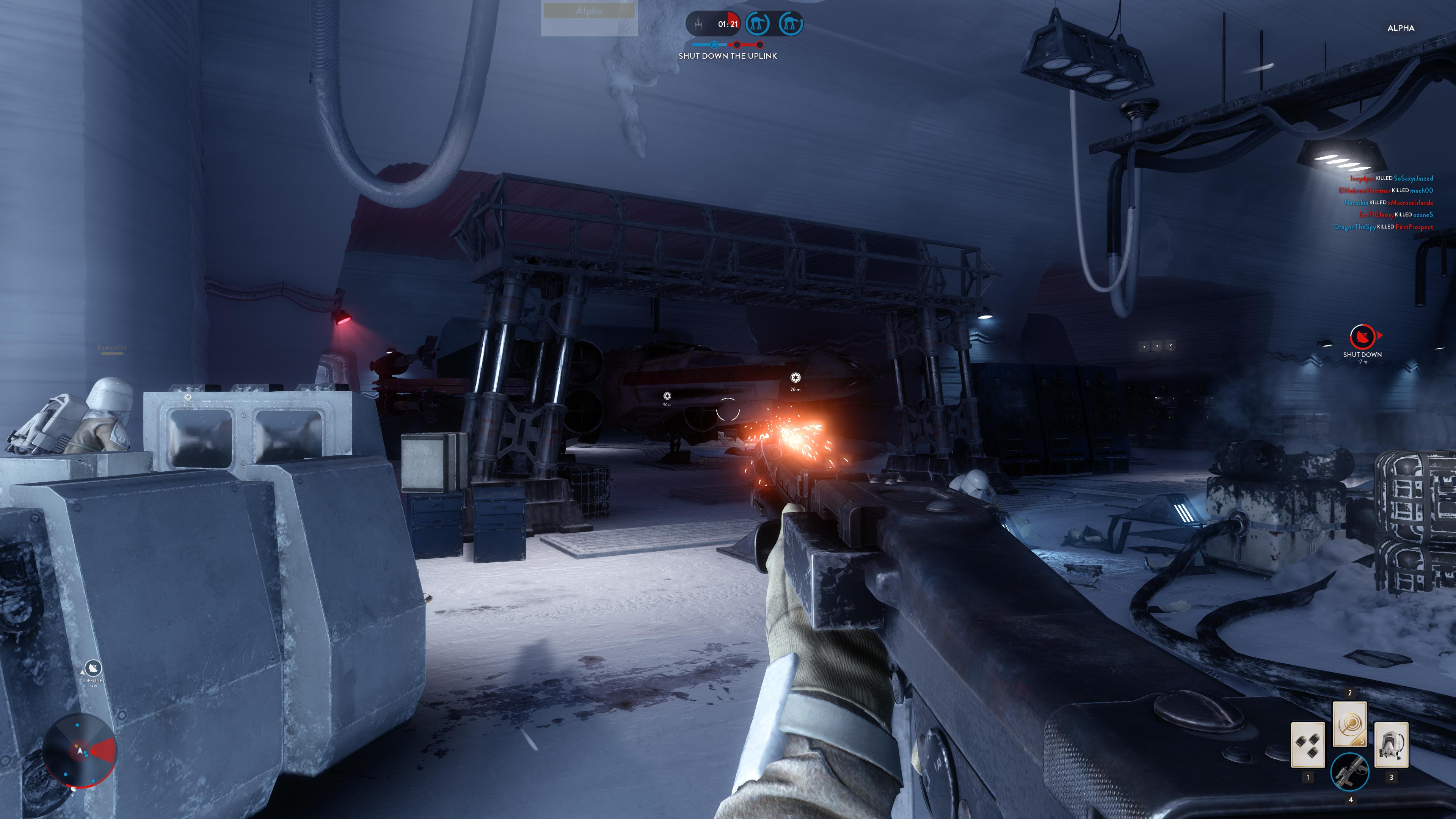 Obrazem: Boj na planetě Hoth ze Star Wars: Battlefront 111214