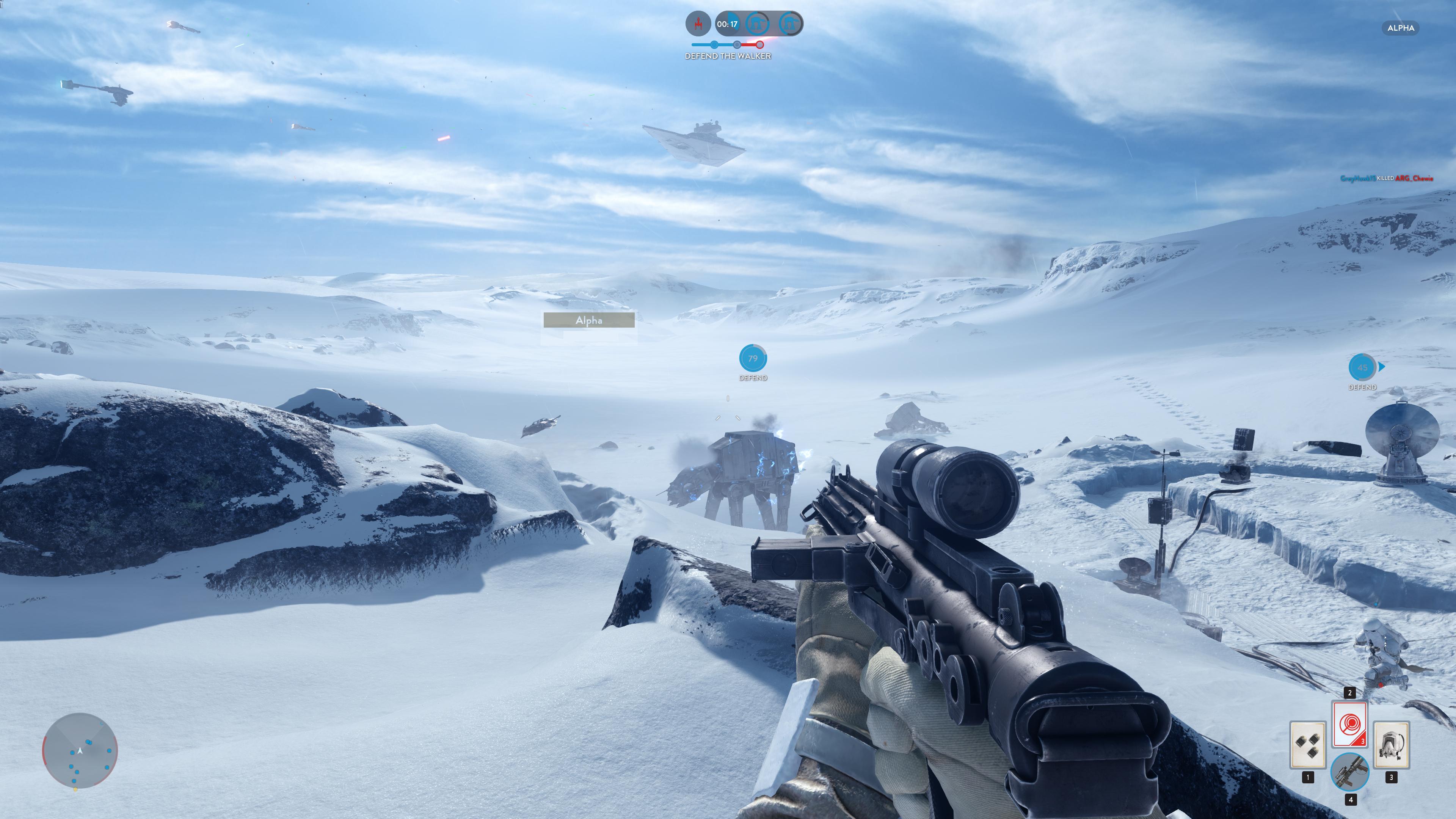 Obrazem: Boj na planetě Hoth ze Star Wars: Battlefront 111219