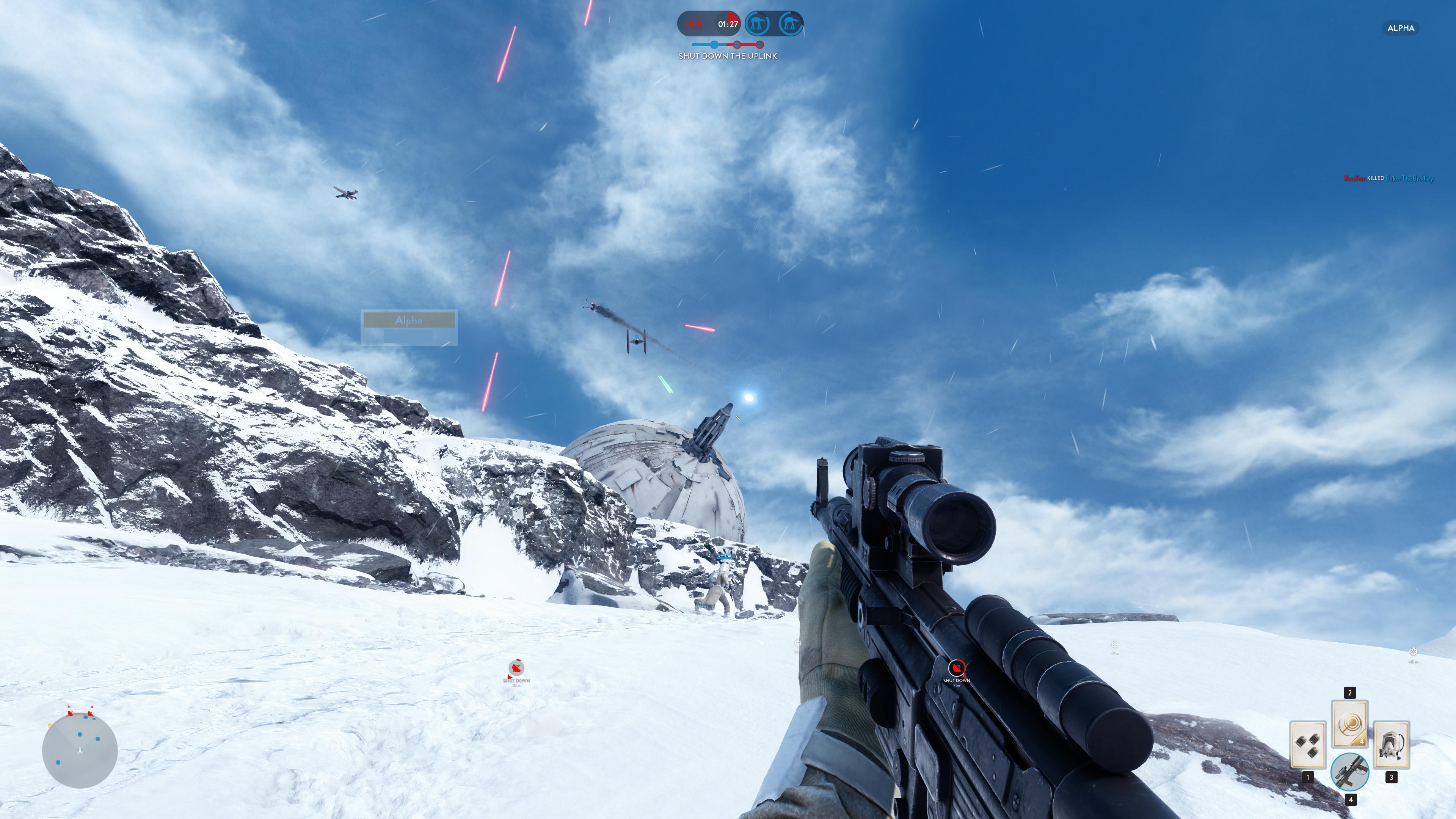 Obrazem: Boj na planetě Hoth ze Star Wars: Battlefront 111221