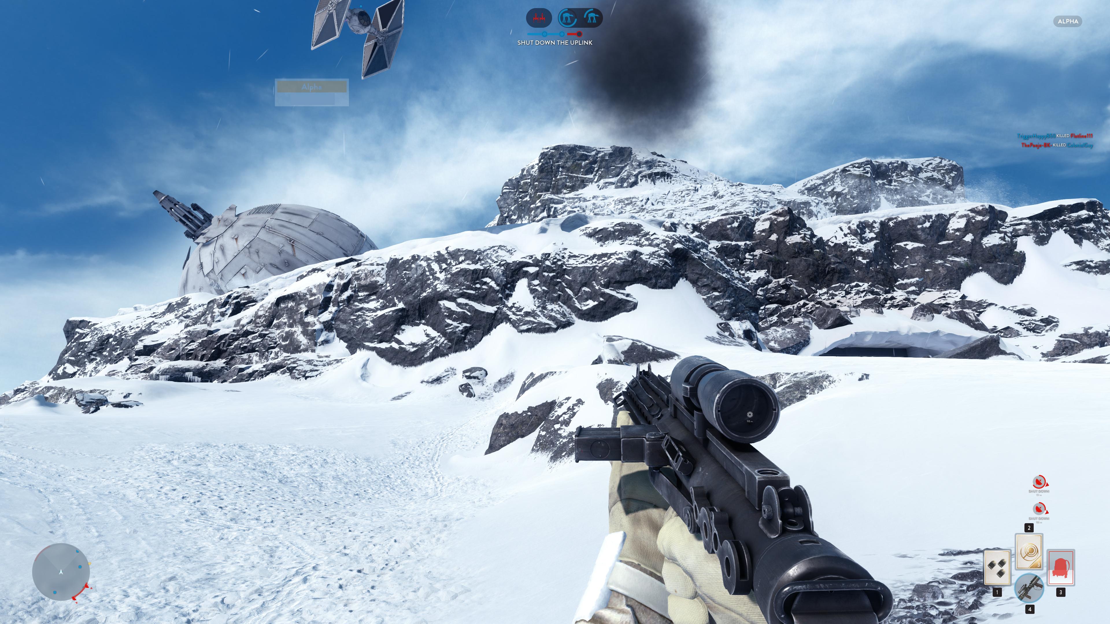 Obrazem: Boj na planetě Hoth ze Star Wars: Battlefront 111223
