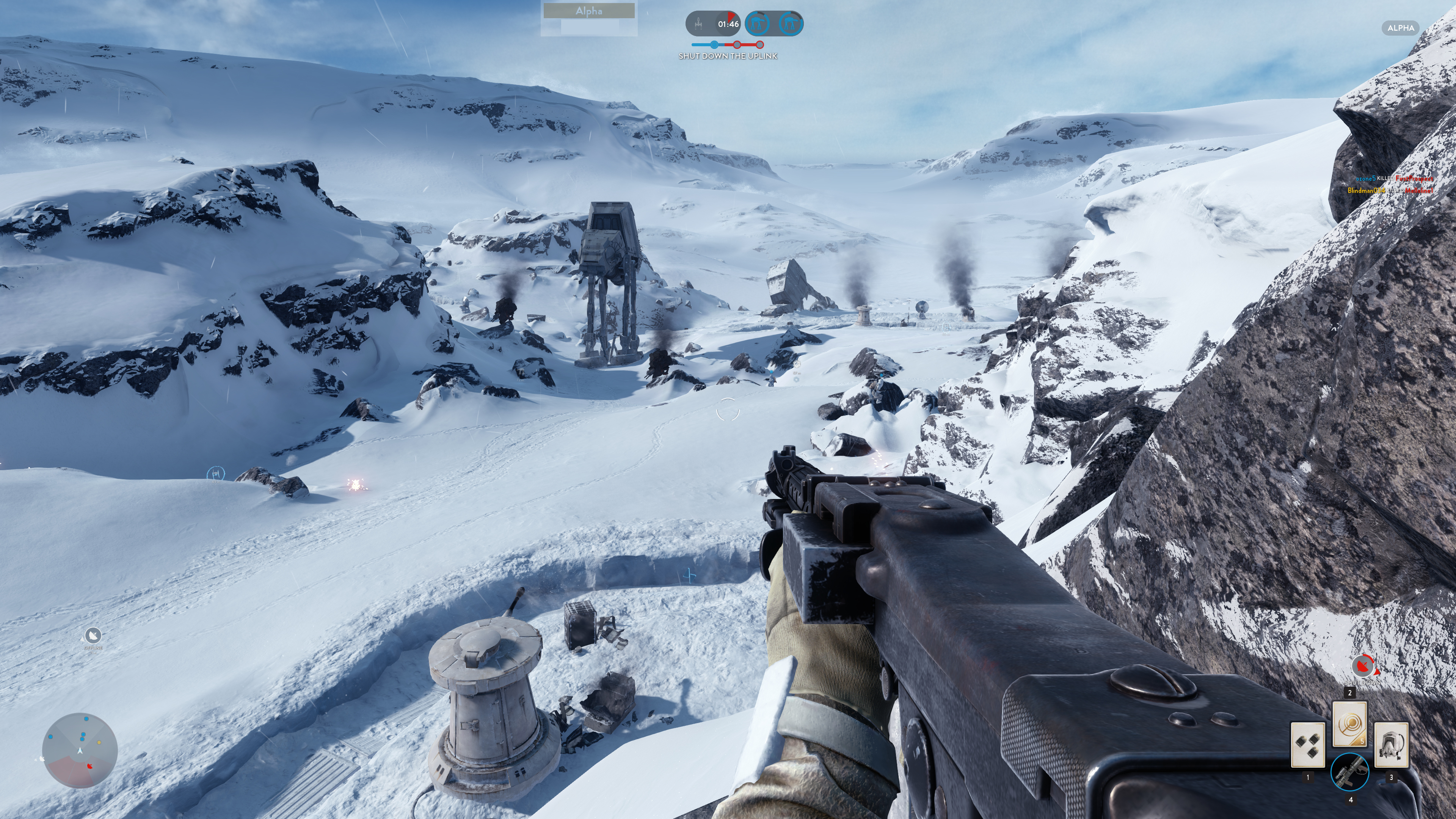 Obrazem: Boj na planetě Hoth ze Star Wars: Battlefront 111226