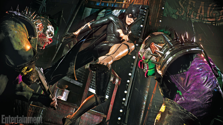 Trailer láká na DLC s Batgirl do Batman: Arkham Knight 111288