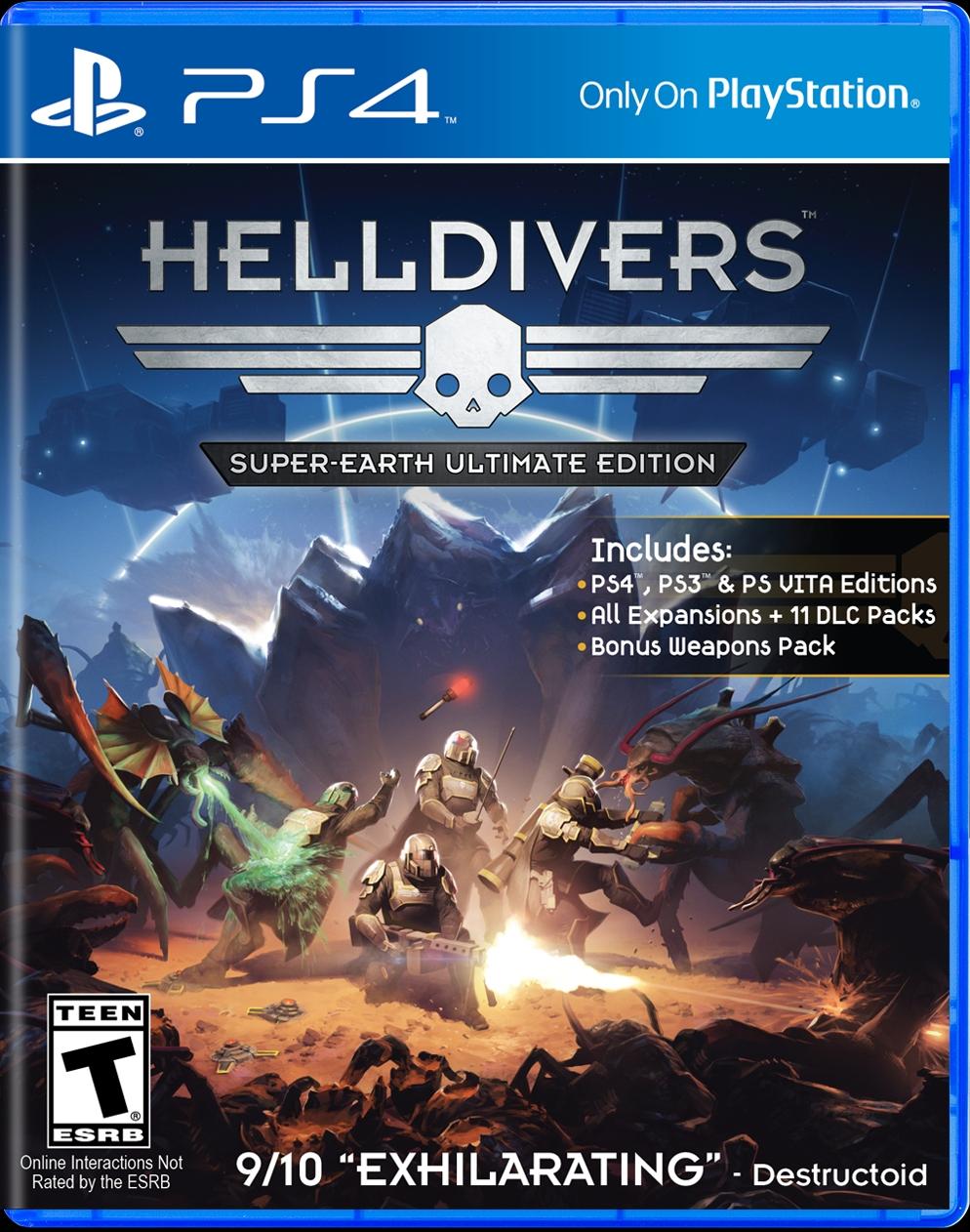 Helldivers má novou aktualizaci a vyjde v krabici 111301