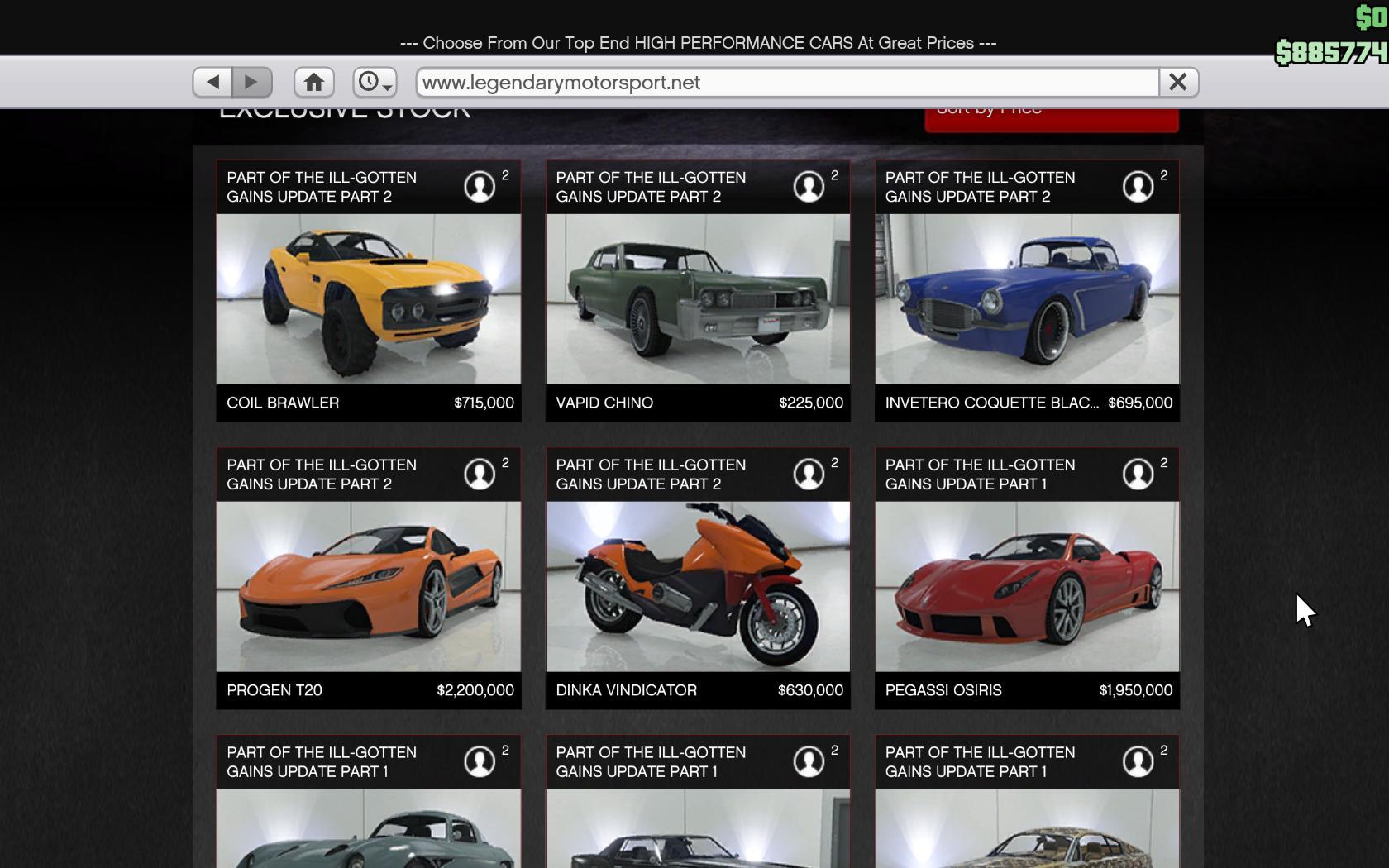 Kolik zaplatíte za nová vozidla do GTA V? 111319
