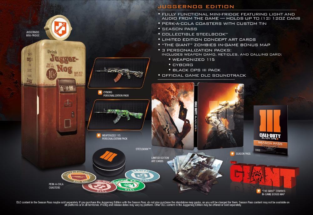 Mini-lednička a mnohem více ve sběratelské edici Call of Duty: Black Ops 3 111377