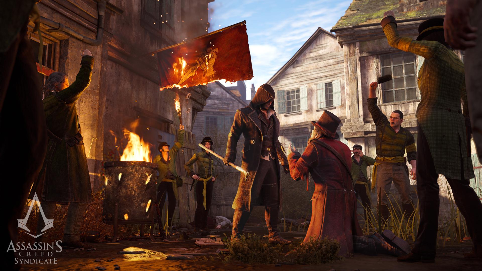 Krátký doprovodný animák k Assassin's Creed: Syndicate 111415