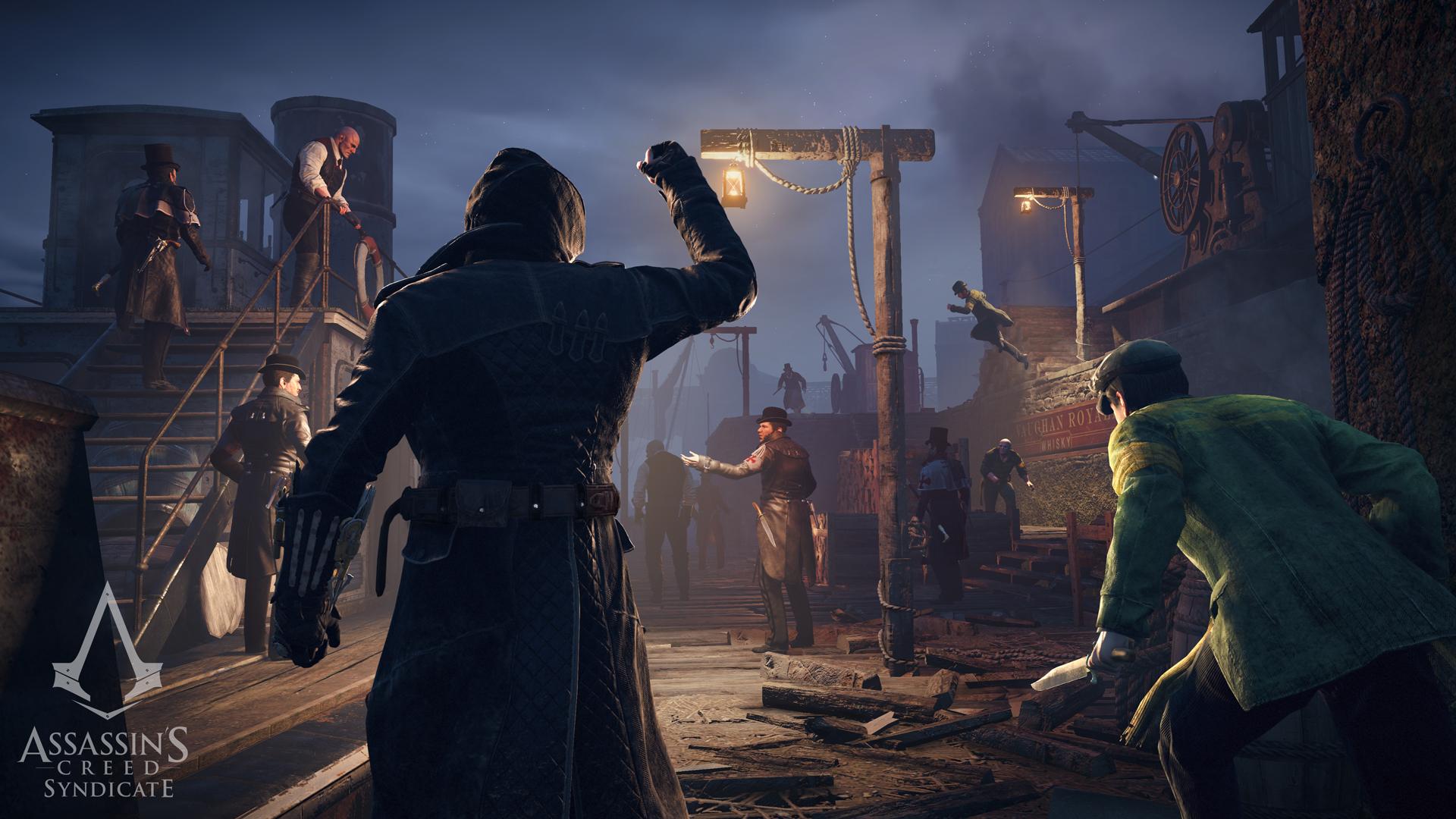 Krátký doprovodný animák k Assassin's Creed: Syndicate 111420