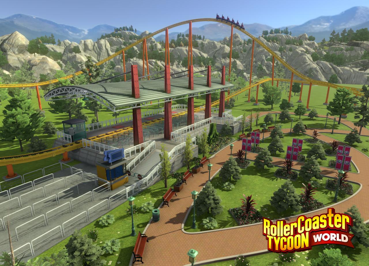 Nová vize legendární série RollerCoaster Tycoon 111423