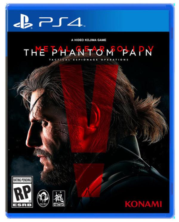 Na obalu MGSV: Phantom Pain chybí jméno hlavního tvůrce 111503