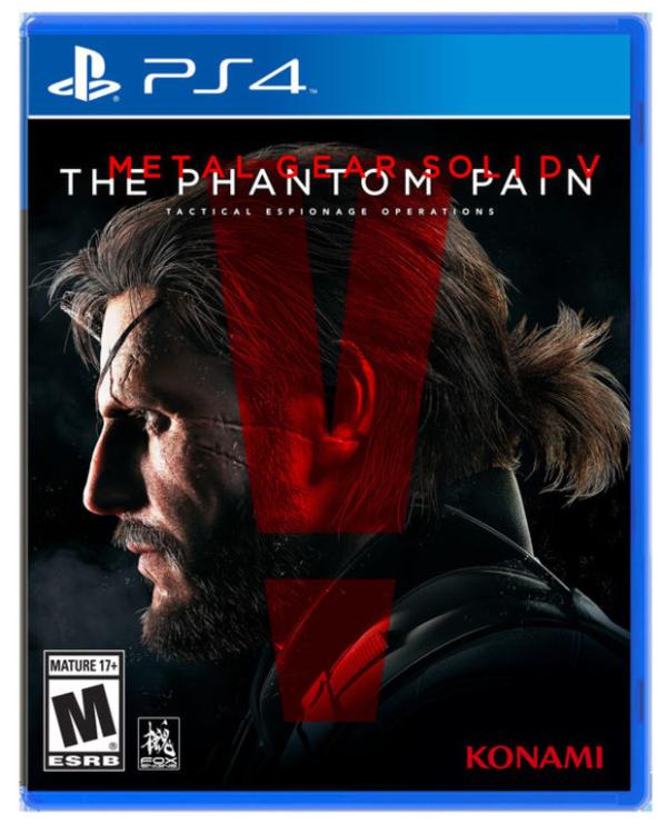Na obalu MGSV: Phantom Pain chybí jméno hlavního tvůrce 111504