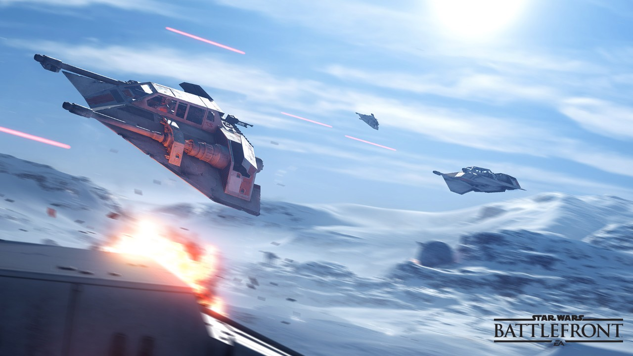 Ve Star Wars: Battlefront nebudeme moci usednout do kokpitu Y-Wingů 111506