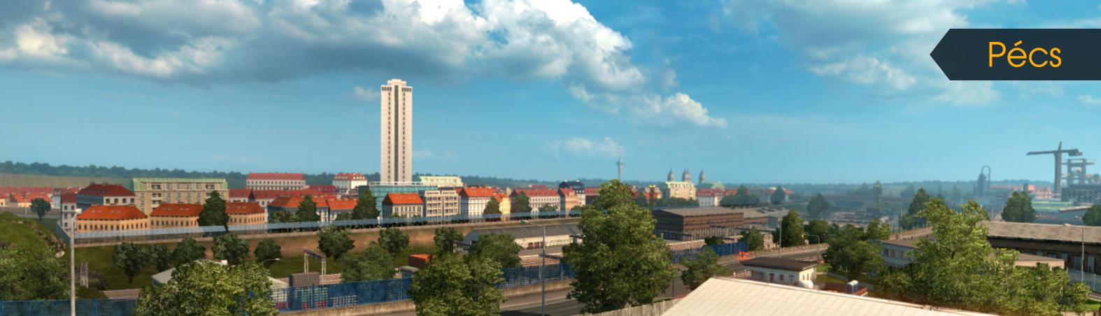 Dvě nová maďarská města už jsou v Euro Truck Simulatoru 2 111525