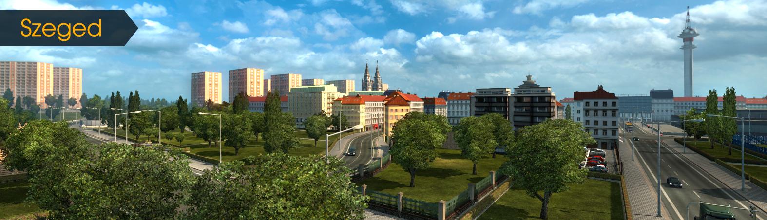 Dvě nová maďarská města už jsou v Euro Truck Simulatoru 2 111526