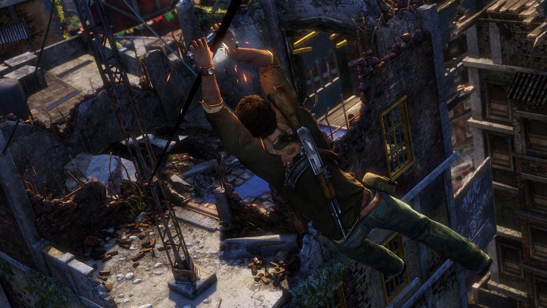 První gameplay záběry a obrázky z kolekce Uncharted 111551
