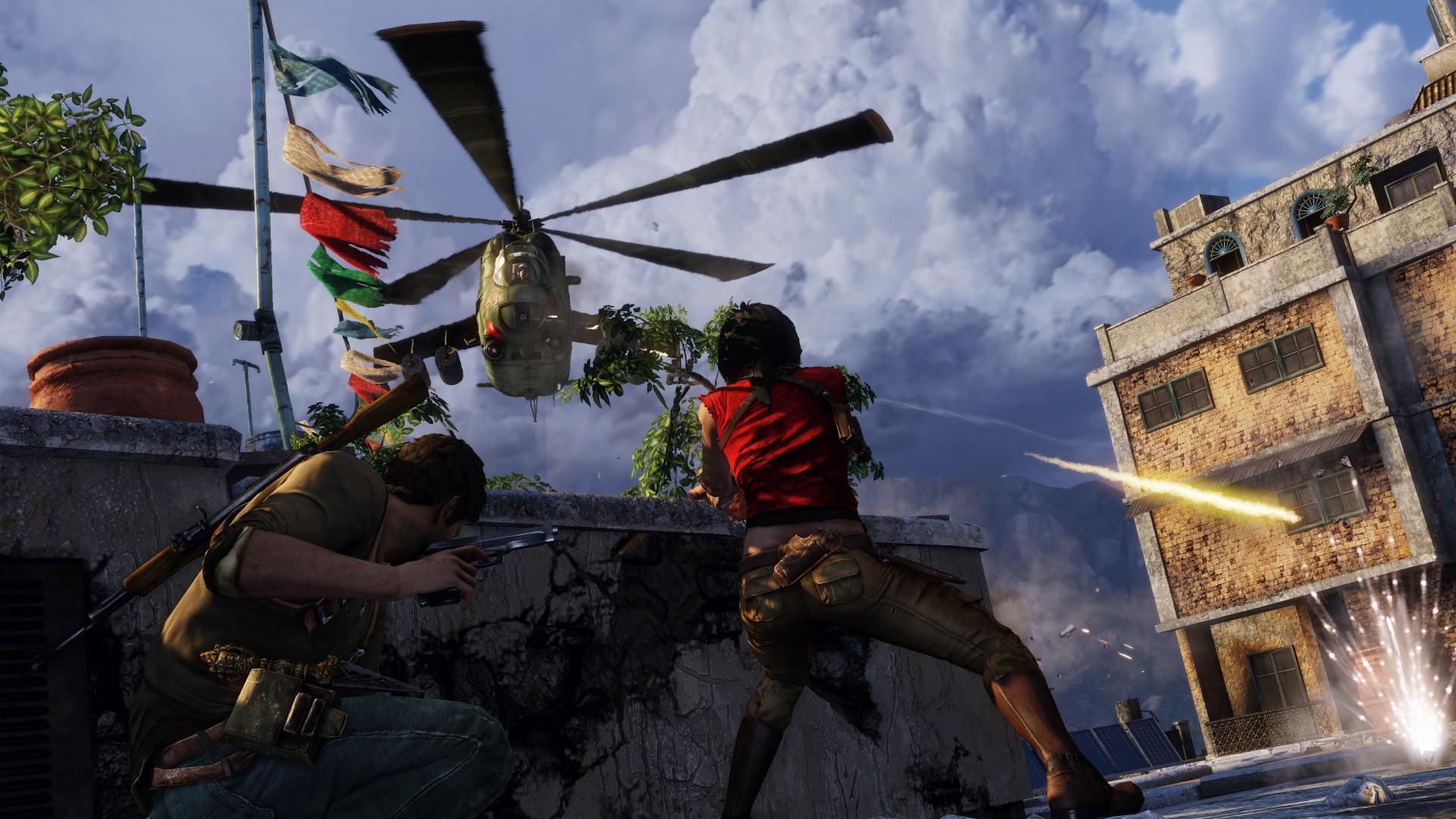 První gameplay záběry a obrázky z kolekce Uncharted 111552