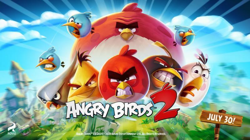Koncem července plnohodnotné pokračování Angry Birds 111591