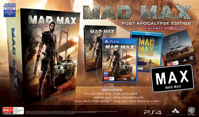 Zvláštní post-apokalyptická edice Mad Maxe 111600