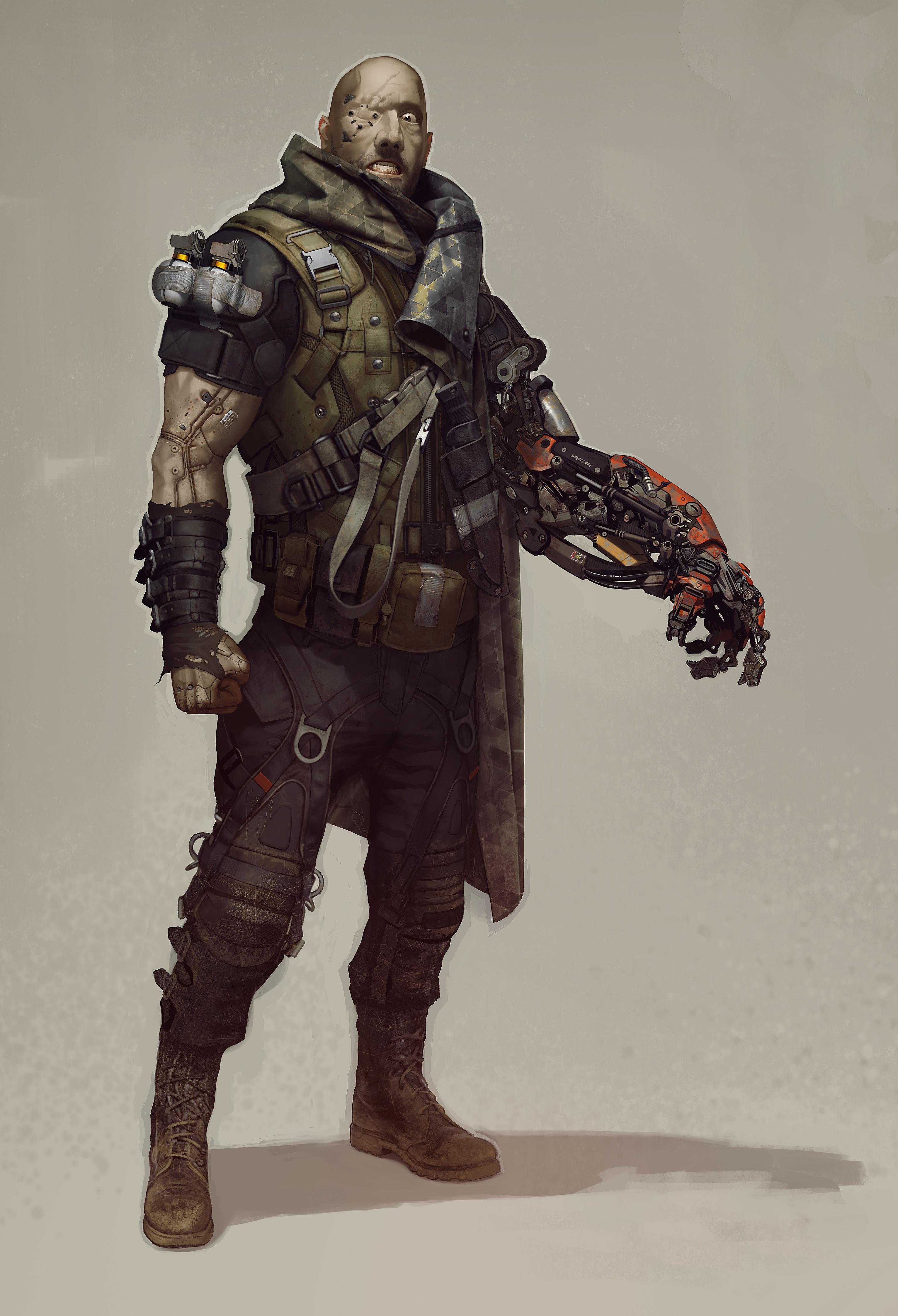 Množství obrazových materiálů z Deus Ex: Mankind Divided 111606