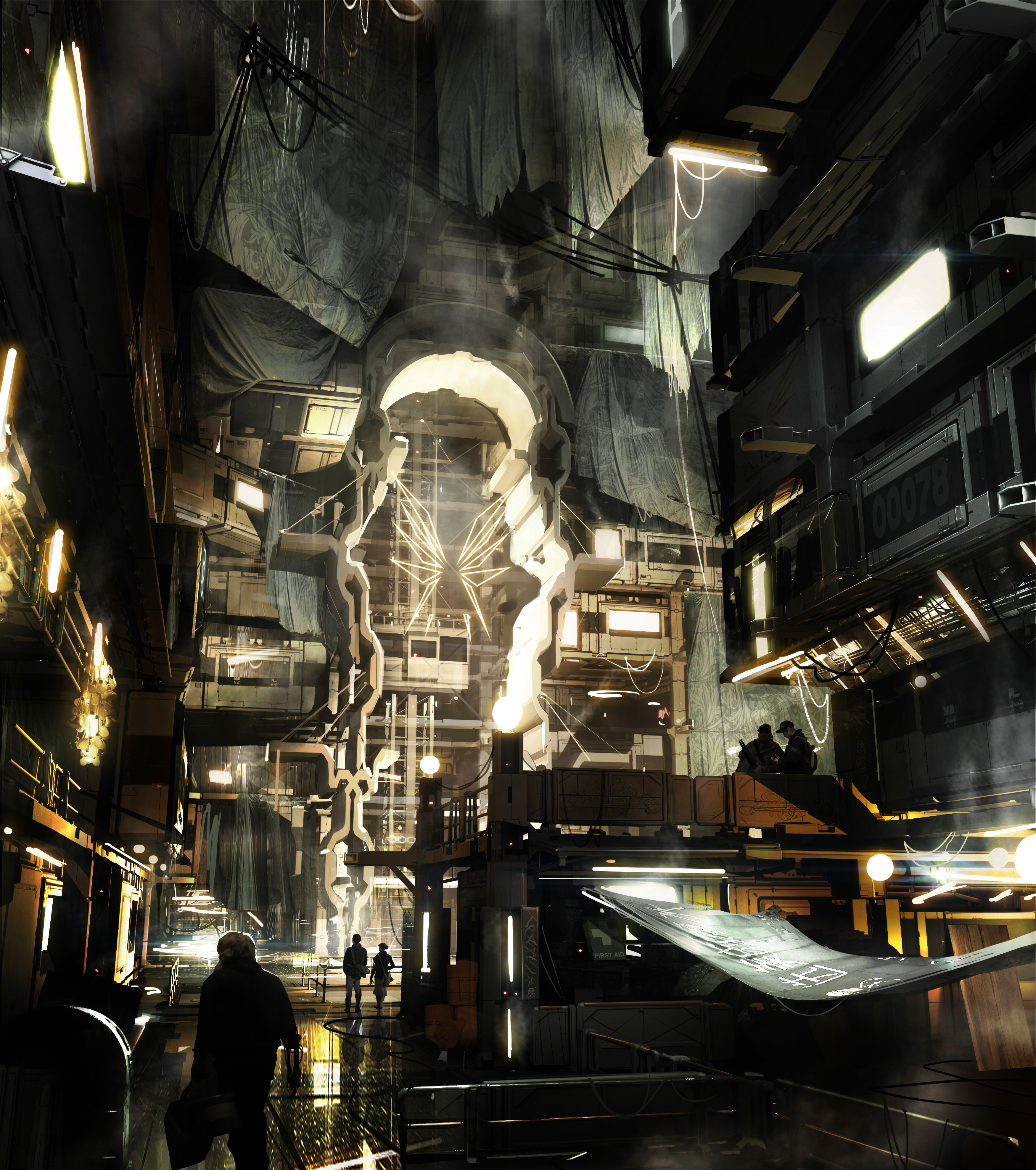 Množství obrazových materiálů z Deus Ex: Mankind Divided 111607